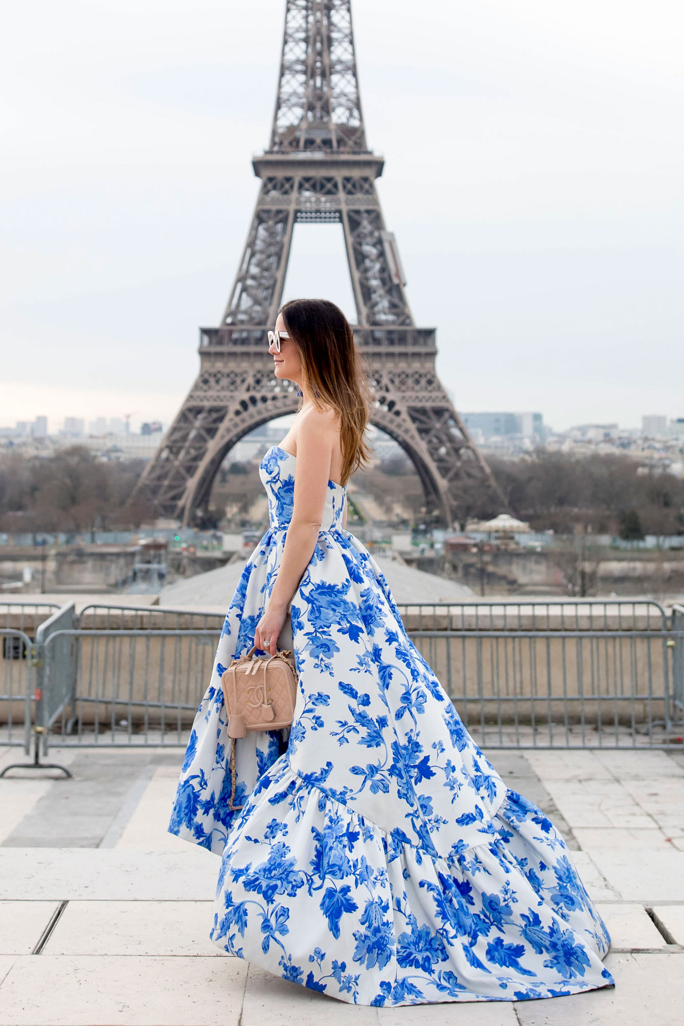 Jennifer Lake Mestiza Gown Paris