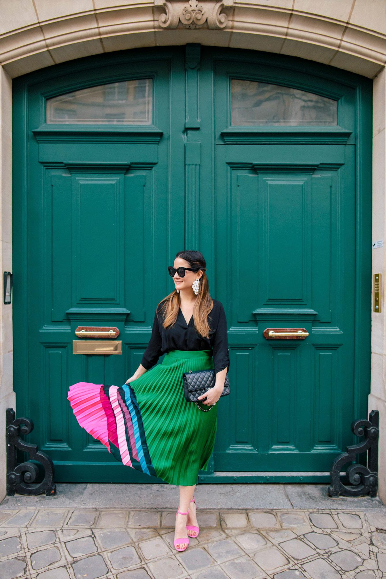 Jennifer Lake Paris Green Doors