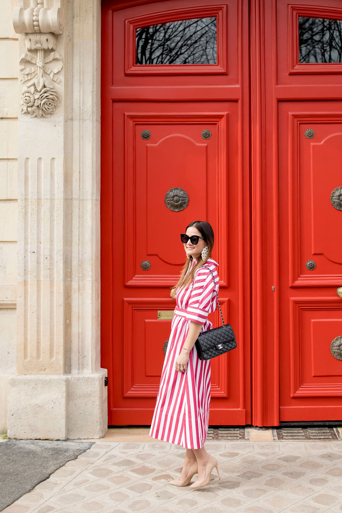 Jennifer Lake Paris Red Doors