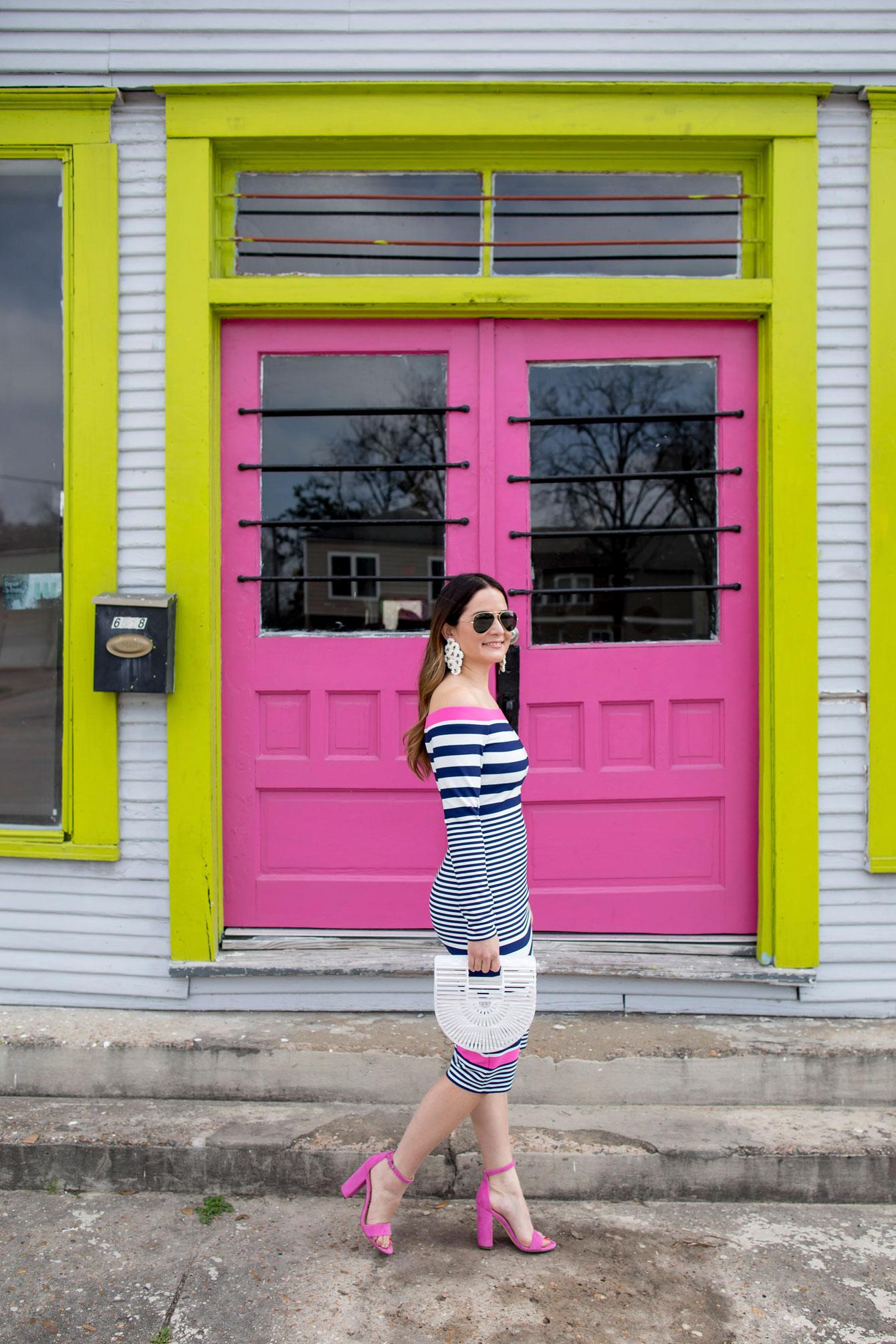 Jennifer Lake Pink Door Houston