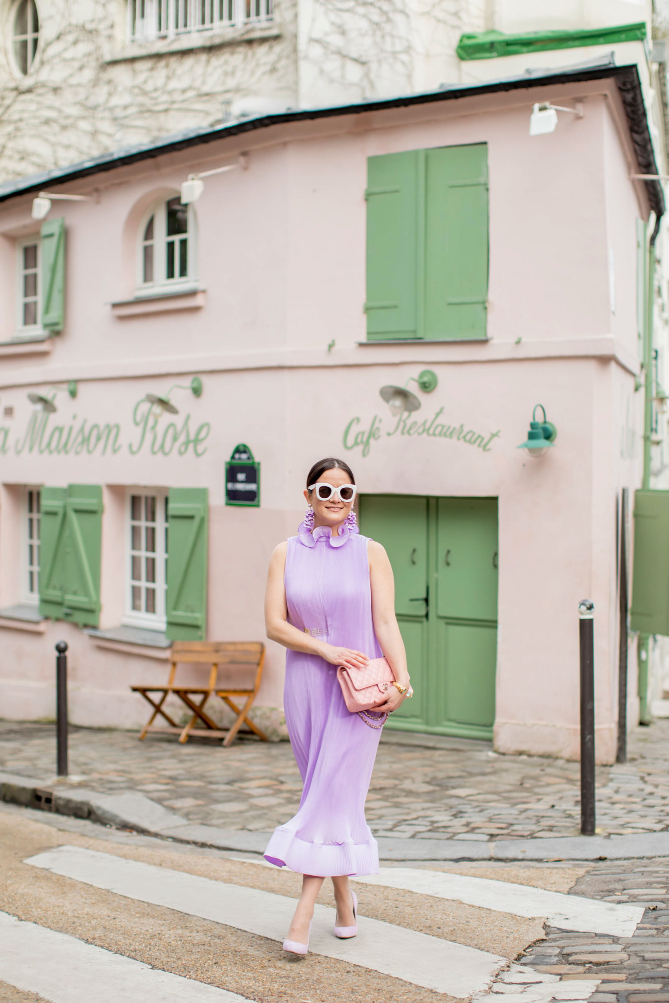 Jennifer Lake Tibi Dress Maison Rose Paris