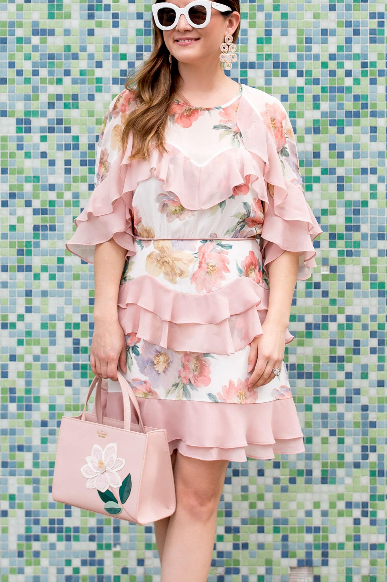 La Maison Talulah Darcy Ruffle Dress