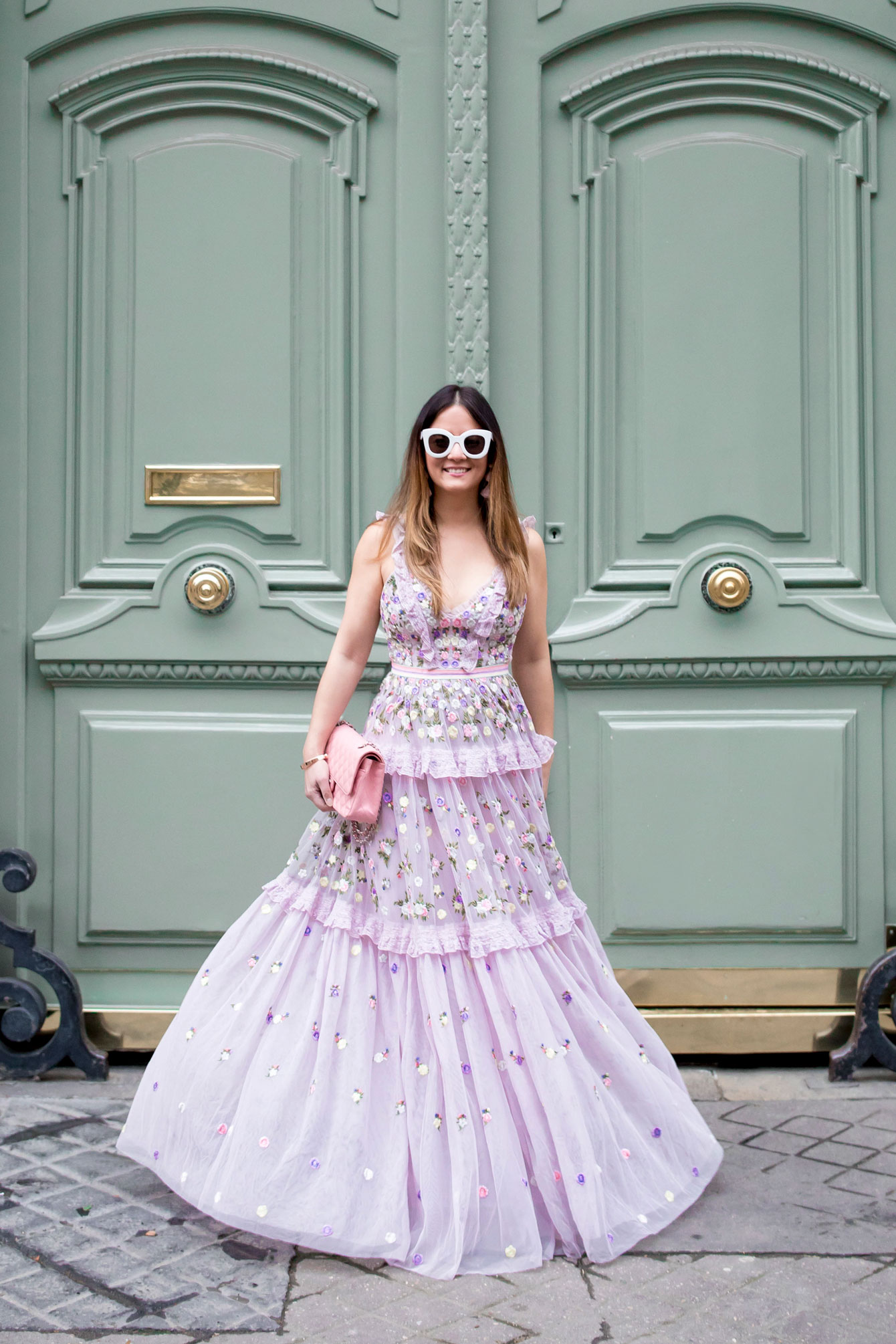 Needle and Thread Lilac Gown Paris