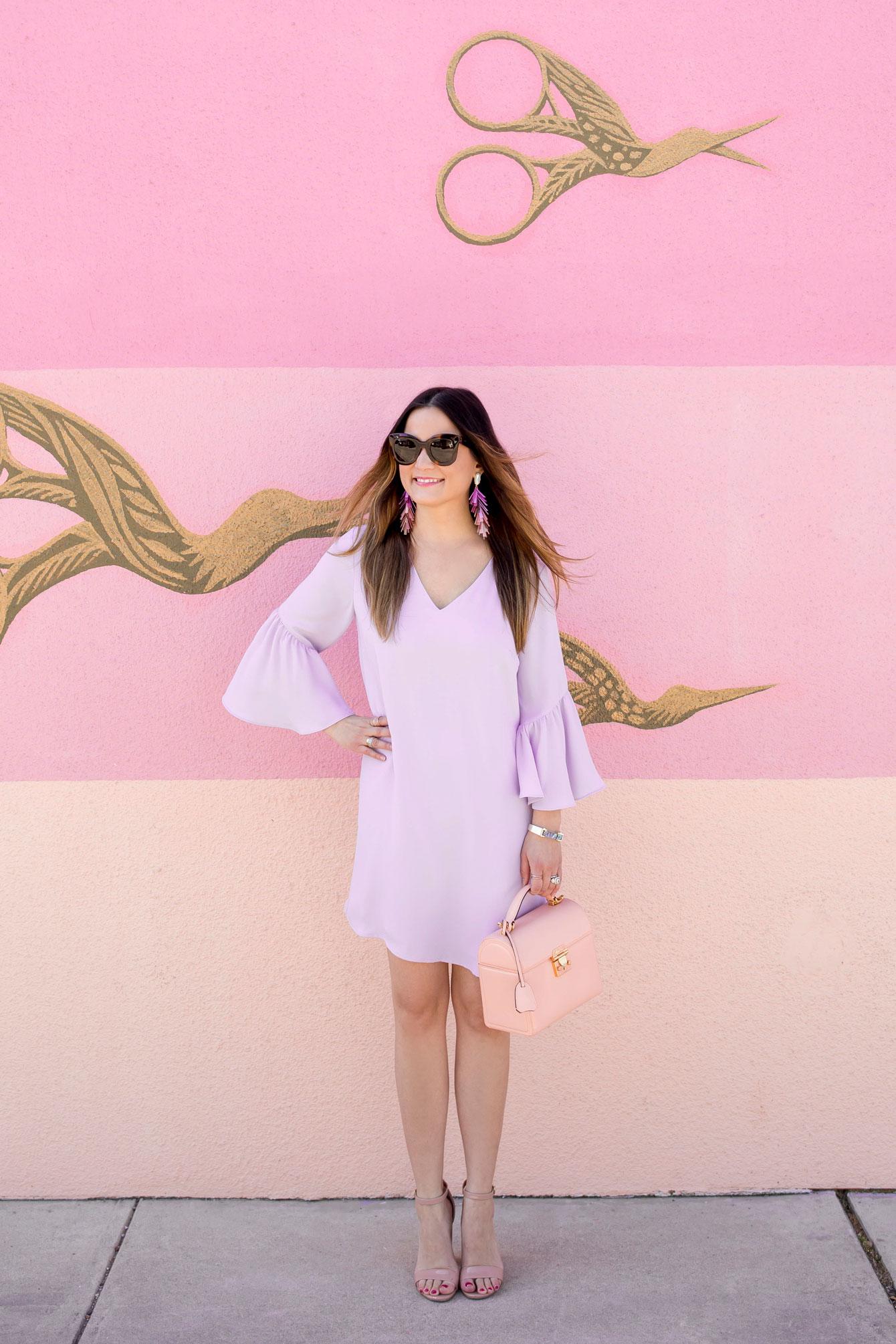 Nordstrom Lilac Shift Dress
