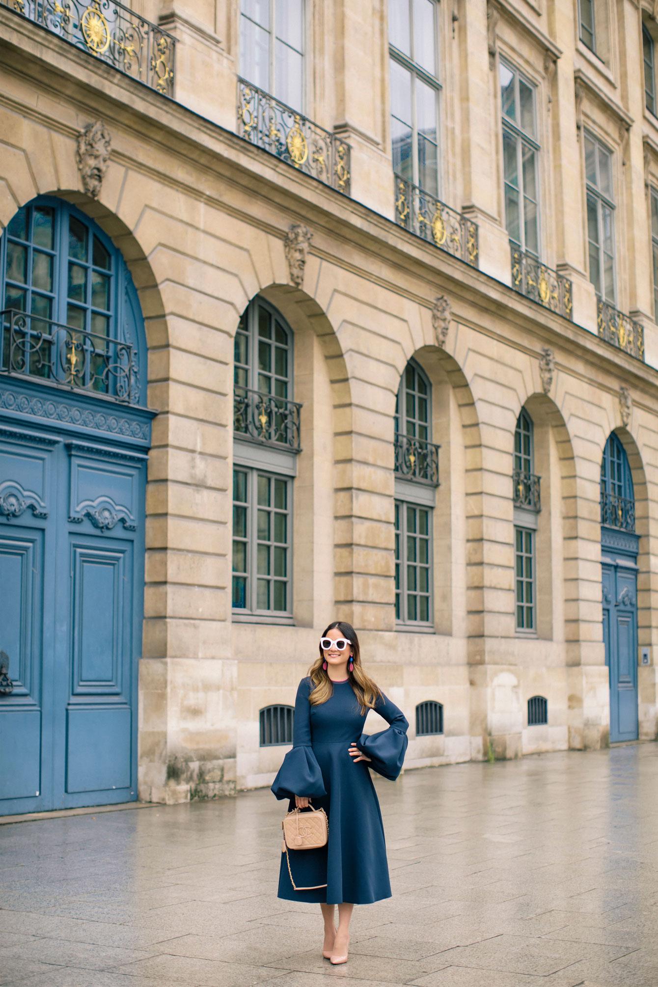 Paris Fashion Week Blogger Place Vendome