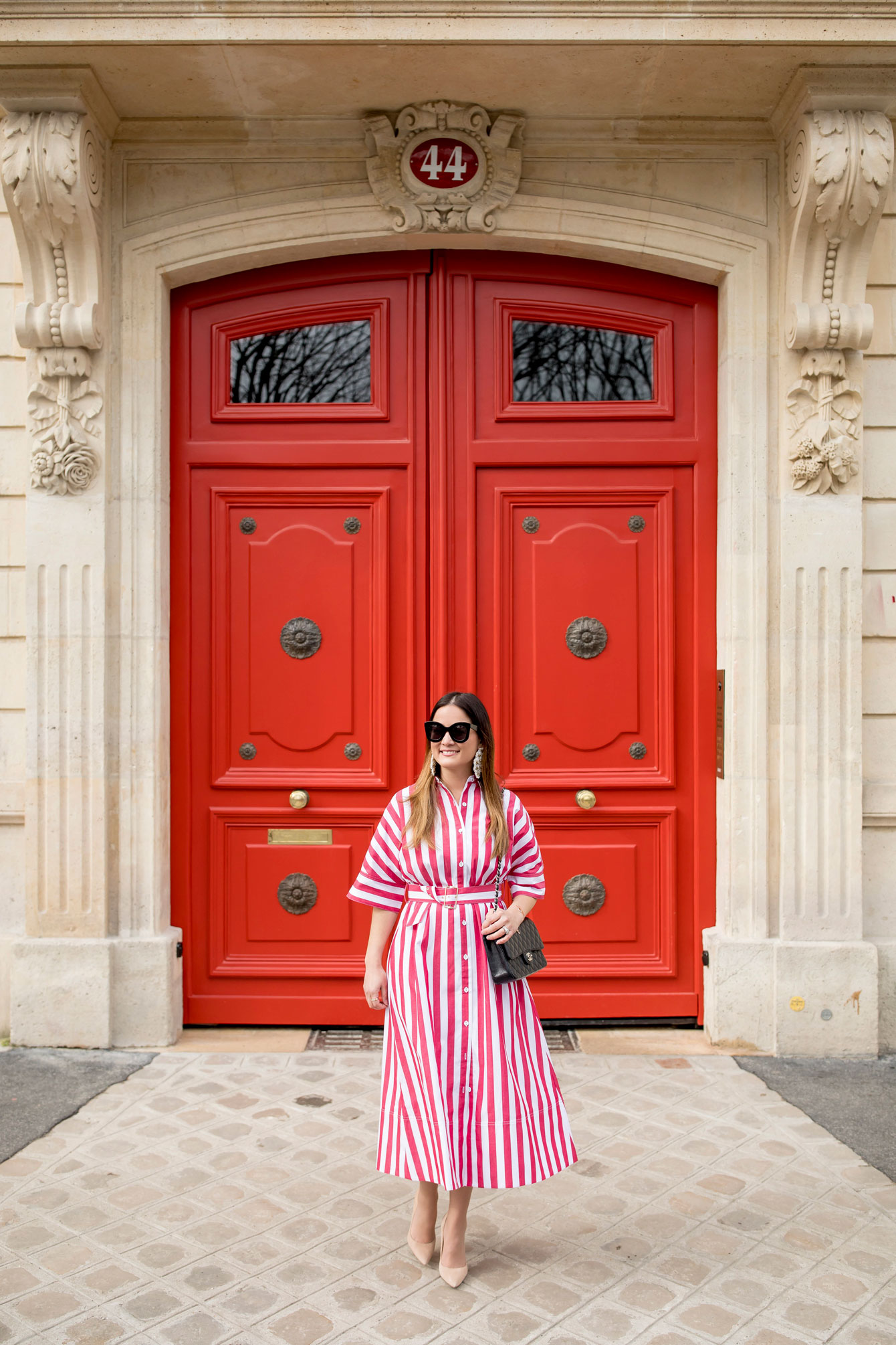 Paris Red Doors