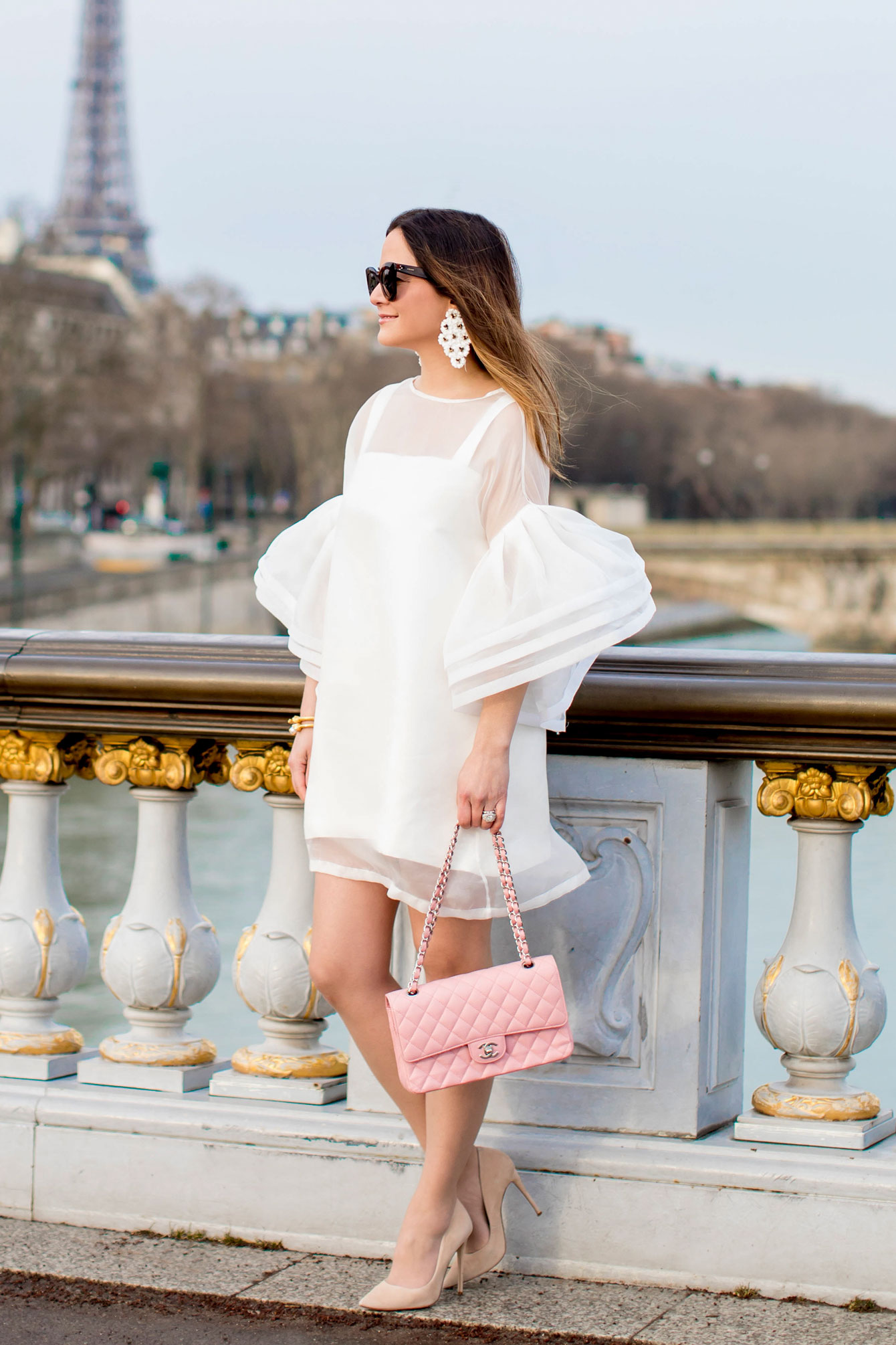 Pink Chanel Medium Flap Bag