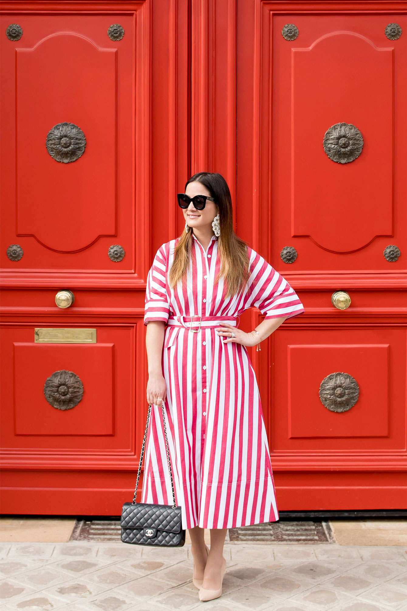 Rachel Antonoff Red Stripe Dress