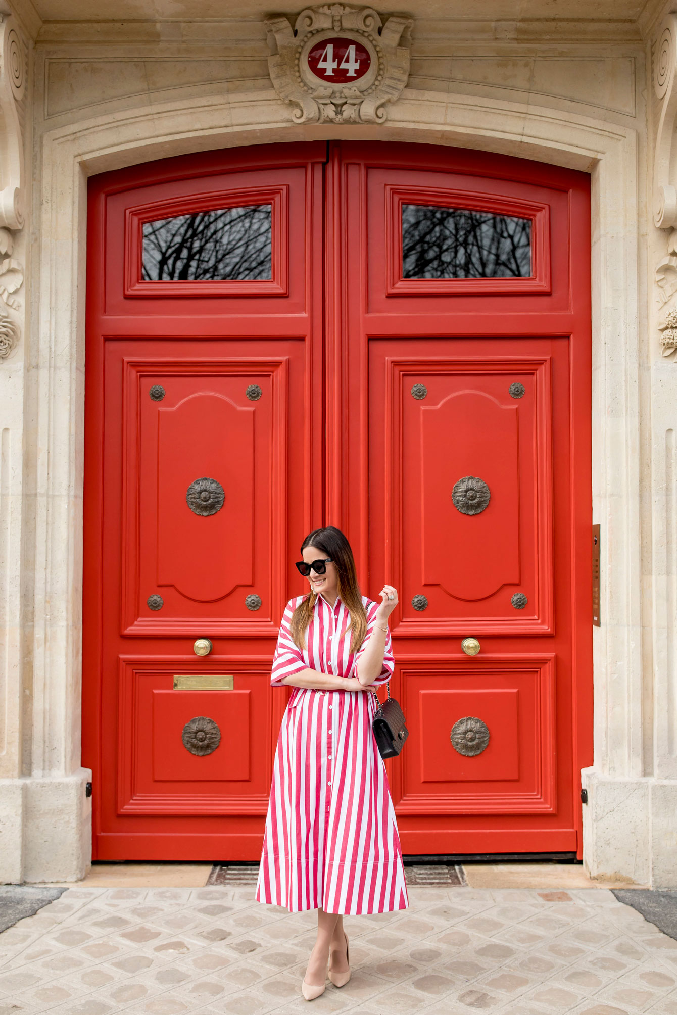 Style Charade Paris Red Doors