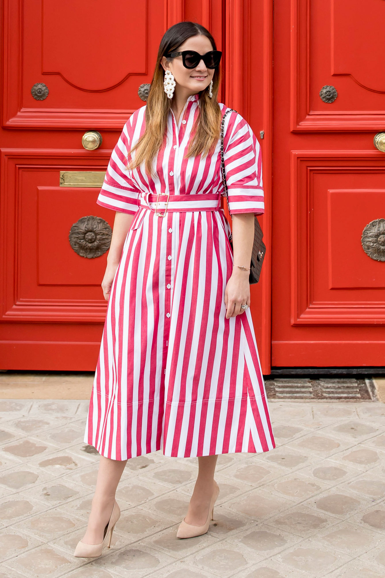 Tuckernuck Red Stripe Dress