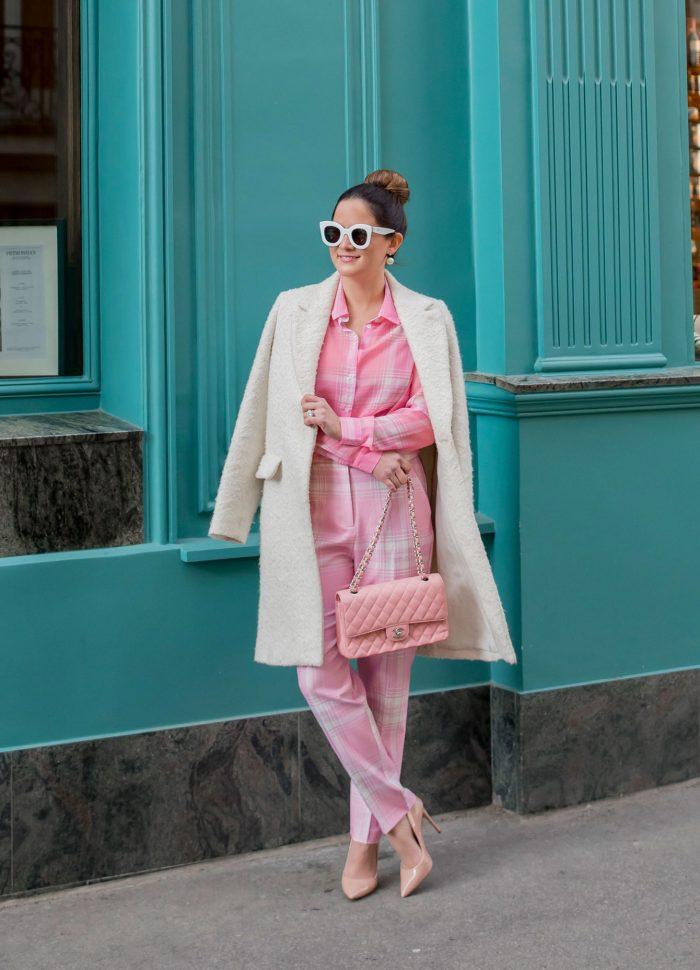 ASOS Pink Check Outfit // Friday Charades