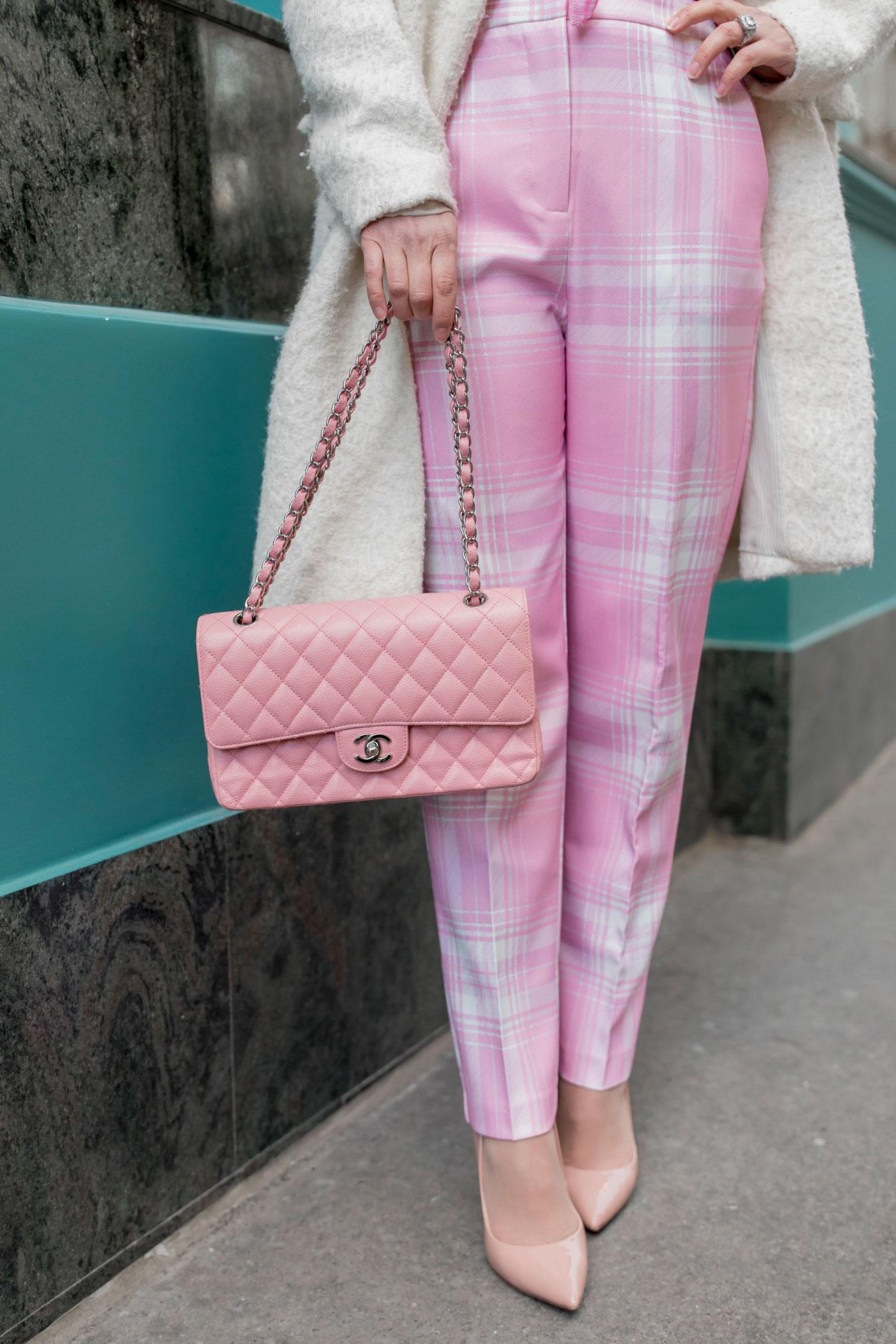 Chanel Caviar Pink Flap Bag