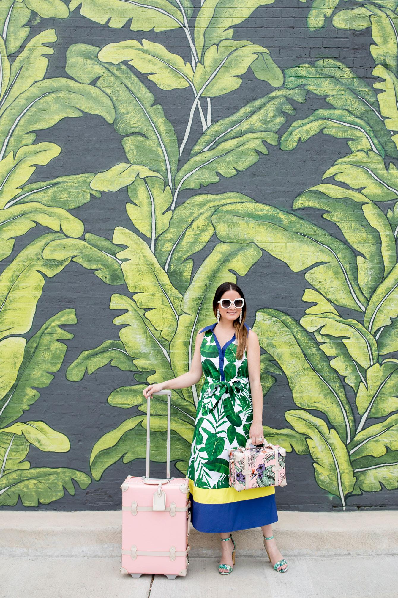 Eden Chicago Leaf Mural