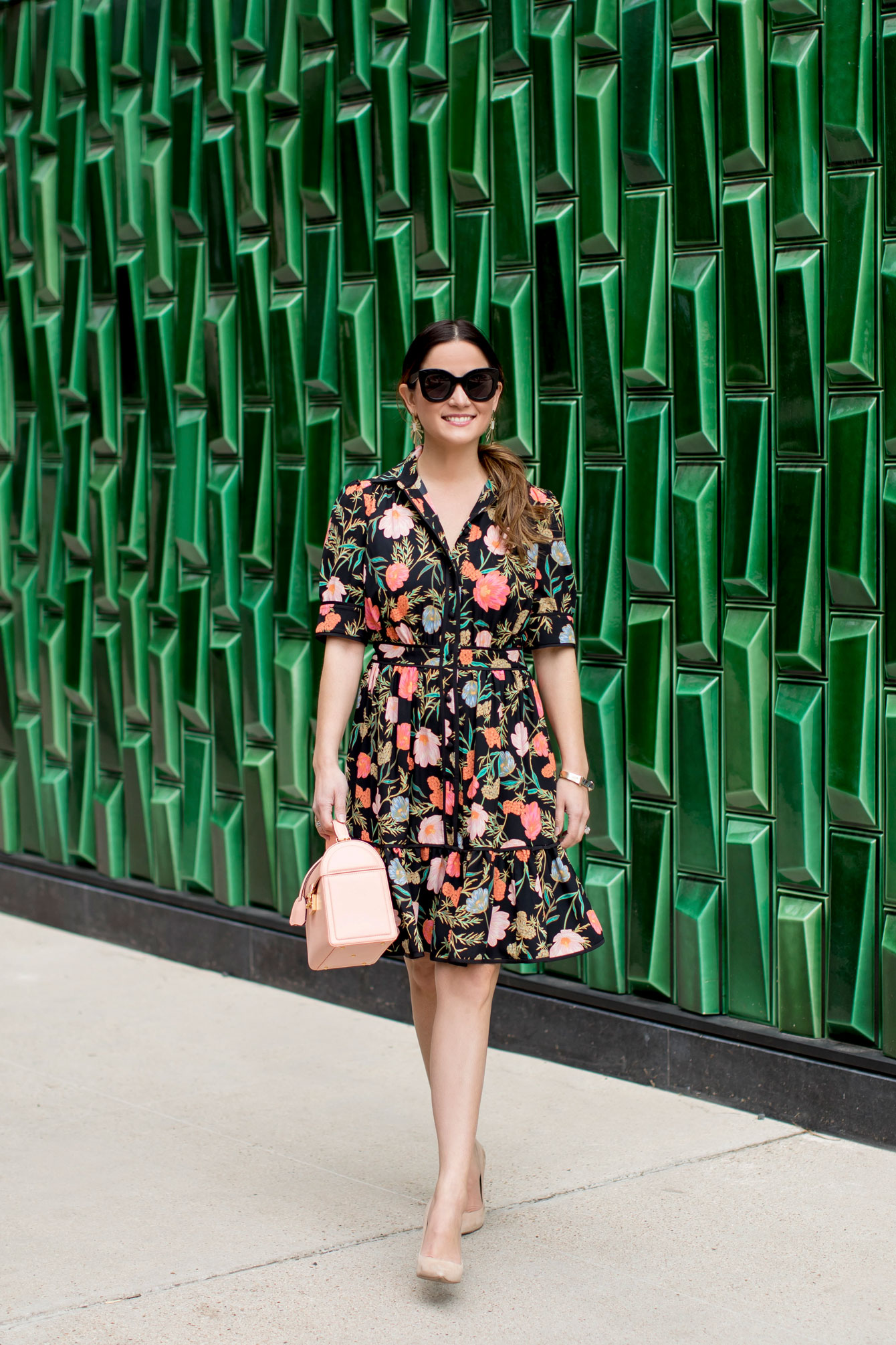 Green Tile Wall Austin