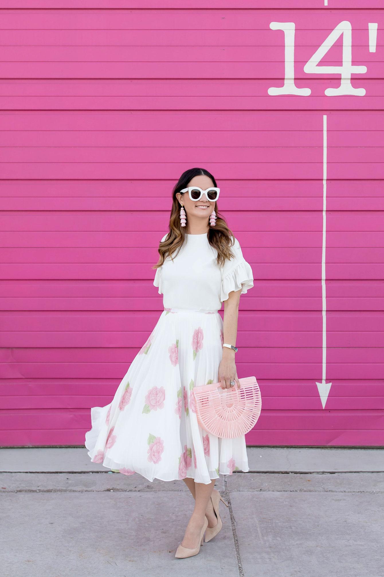 Jennifer Lake Chicago Pink Wall