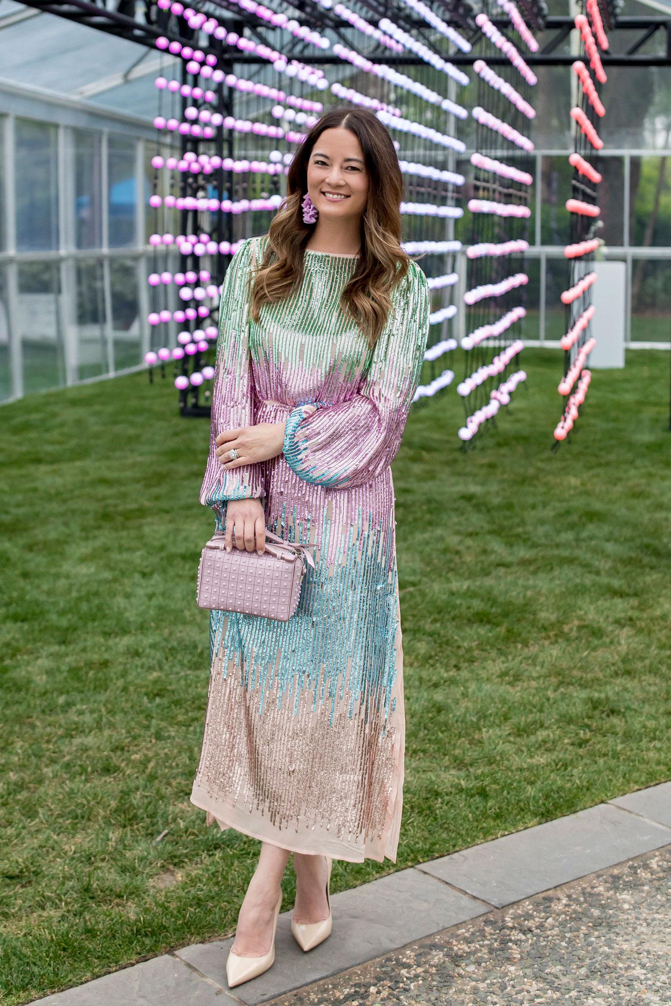 Jennifer Lake Rixo London Sequin Dress