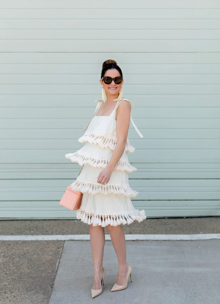 Mestiza Palma Tassel Dress in Dallas
