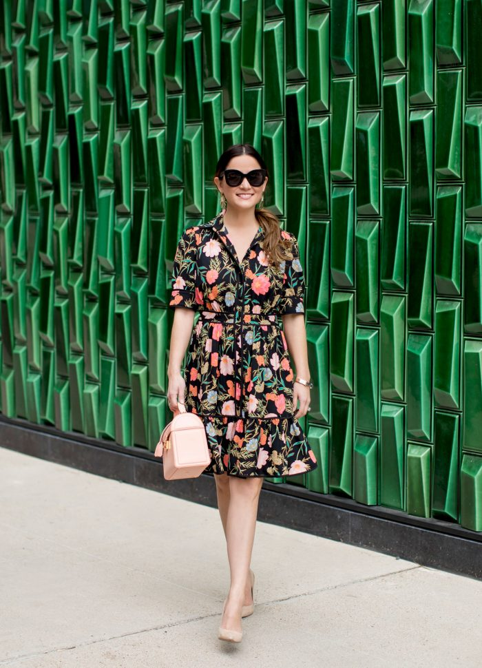 Kate Spade Blossom Print Shirtdress in Austin