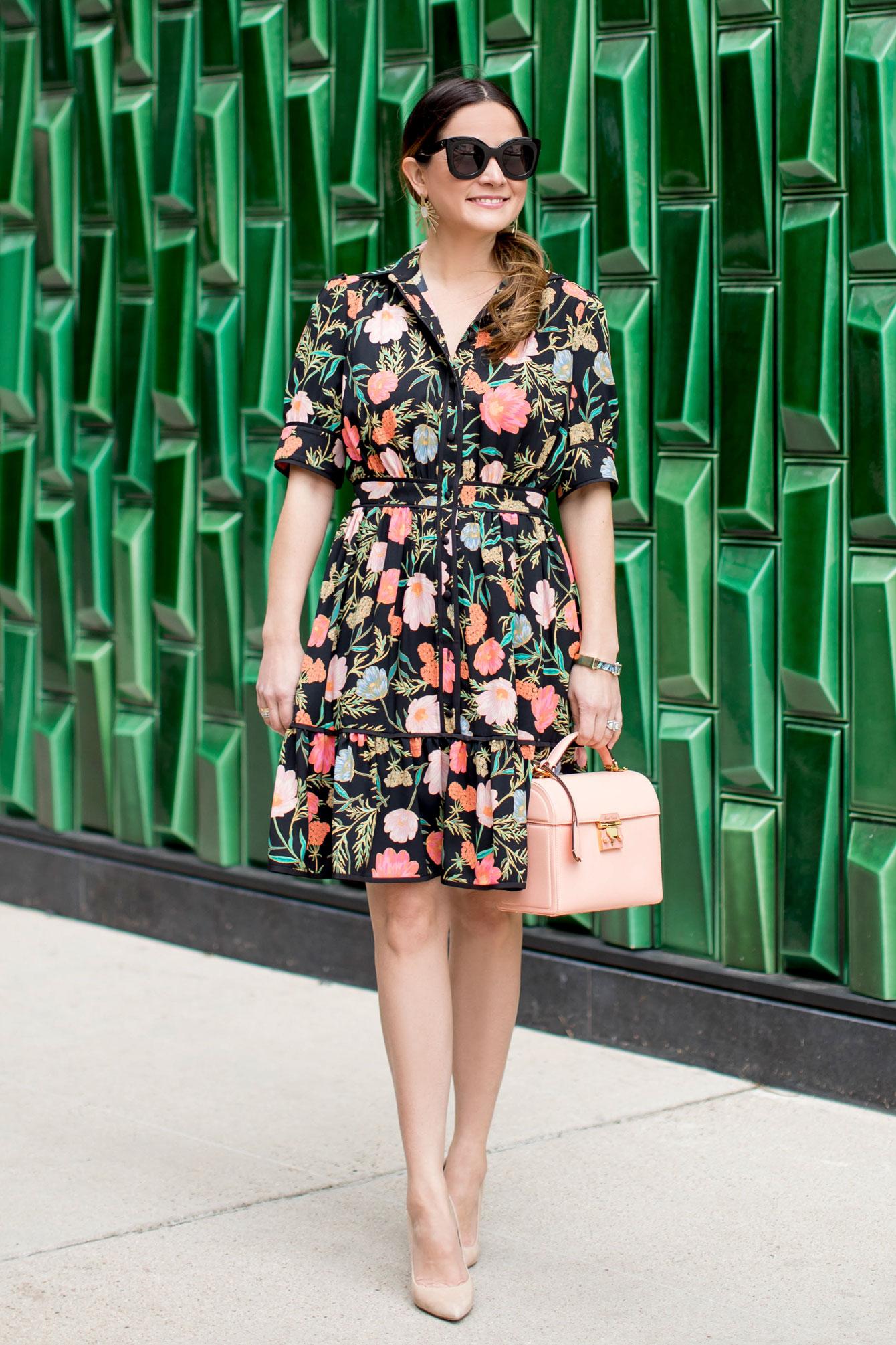 Kate Spade Spring 2018 Floral Dress
