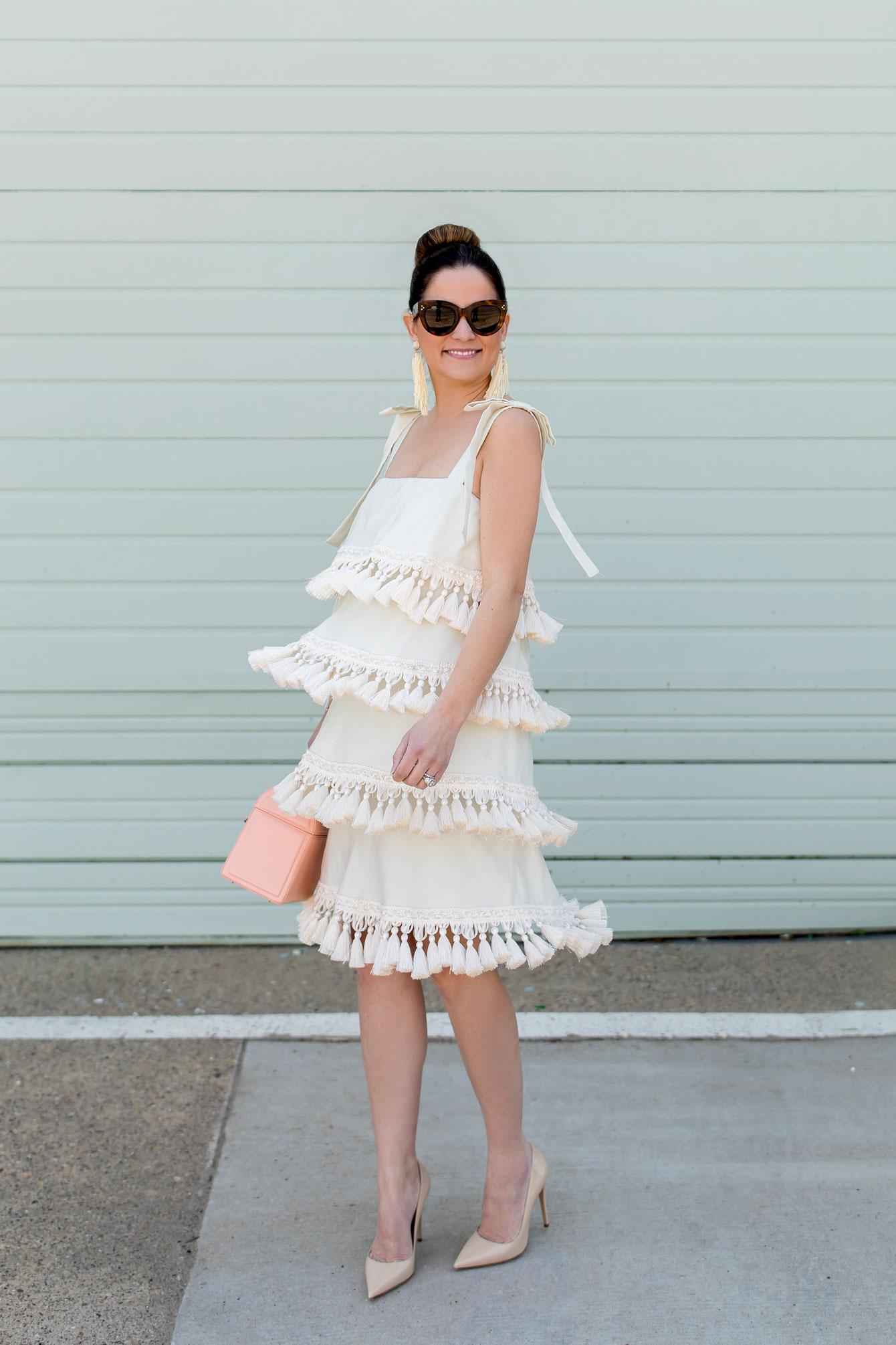 Mestiza Palma Tassel Dress