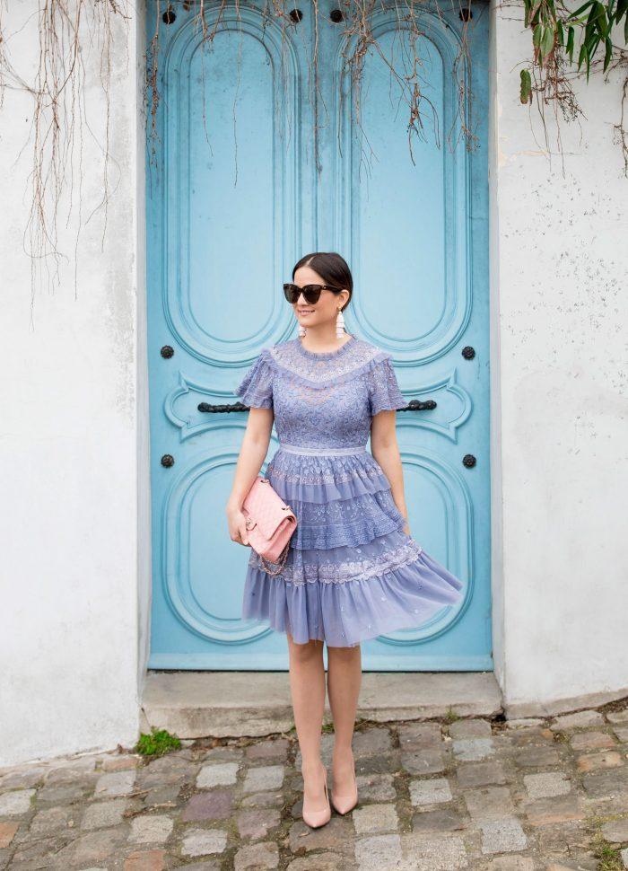 Needle and Thread Iris Dress in Paris