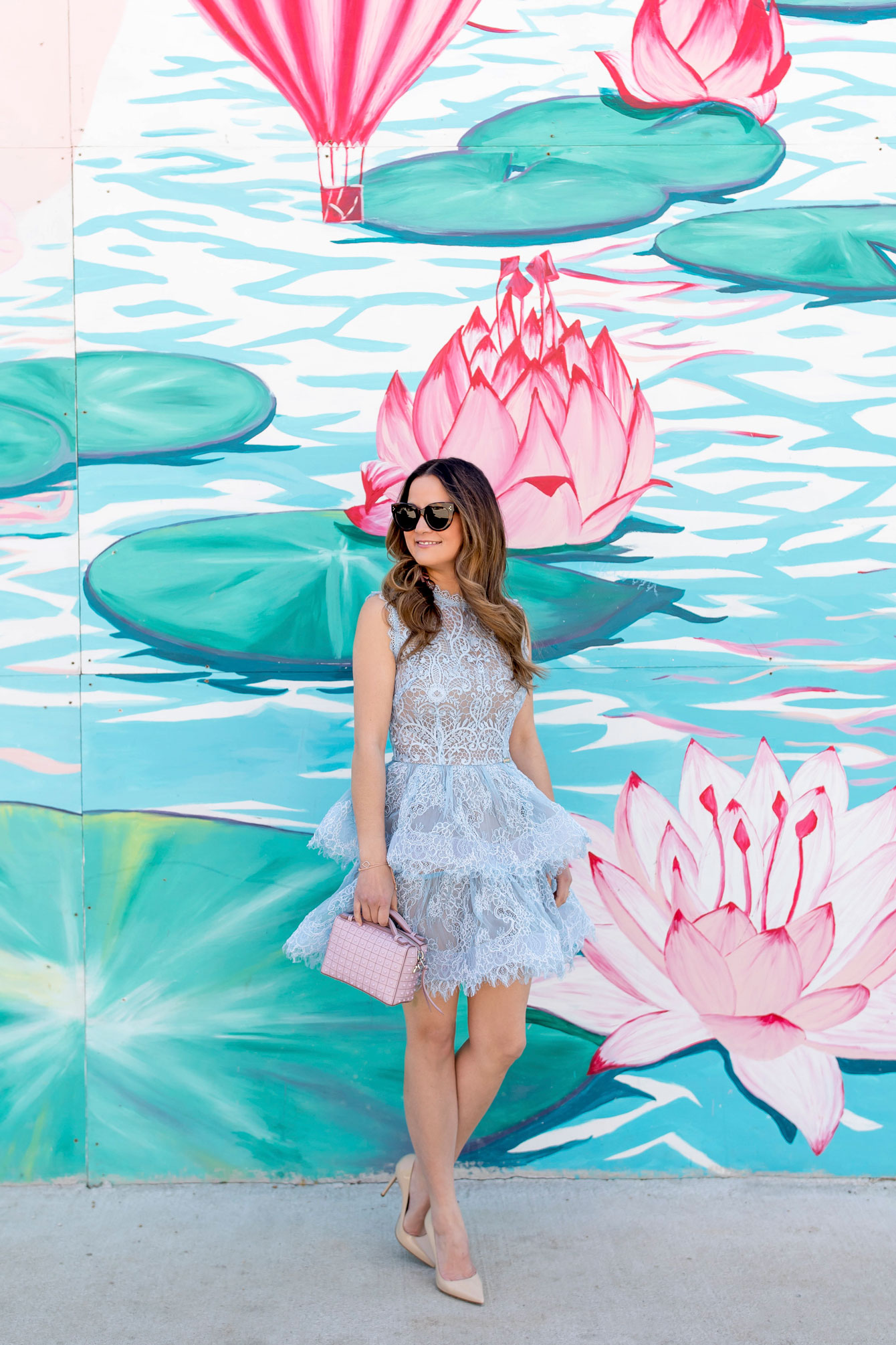 Bronx Banco Lace Mini Dress