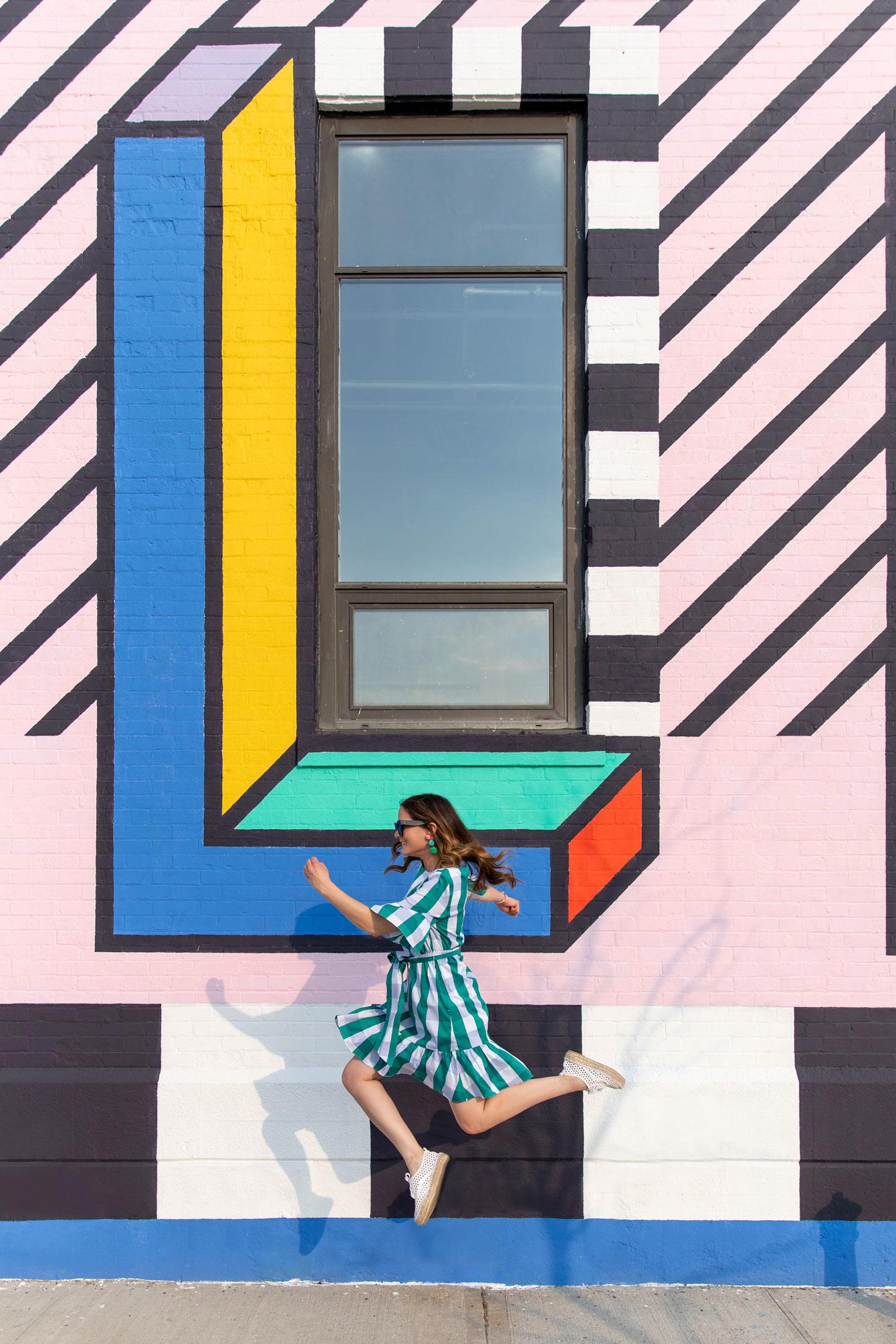 Brooklyn Camille Walala Mural Building