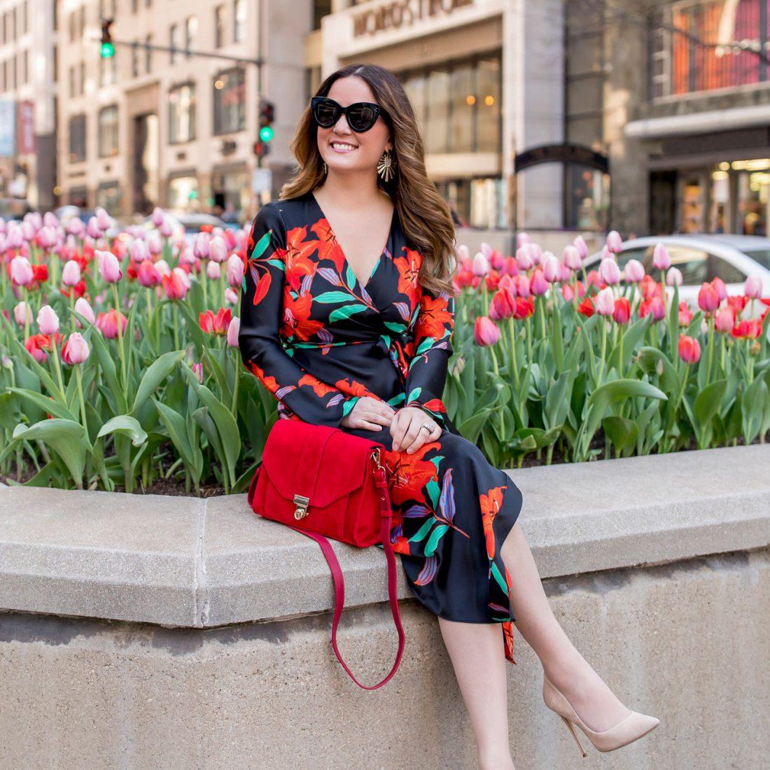 Chicago Michigan Avenue Tulips