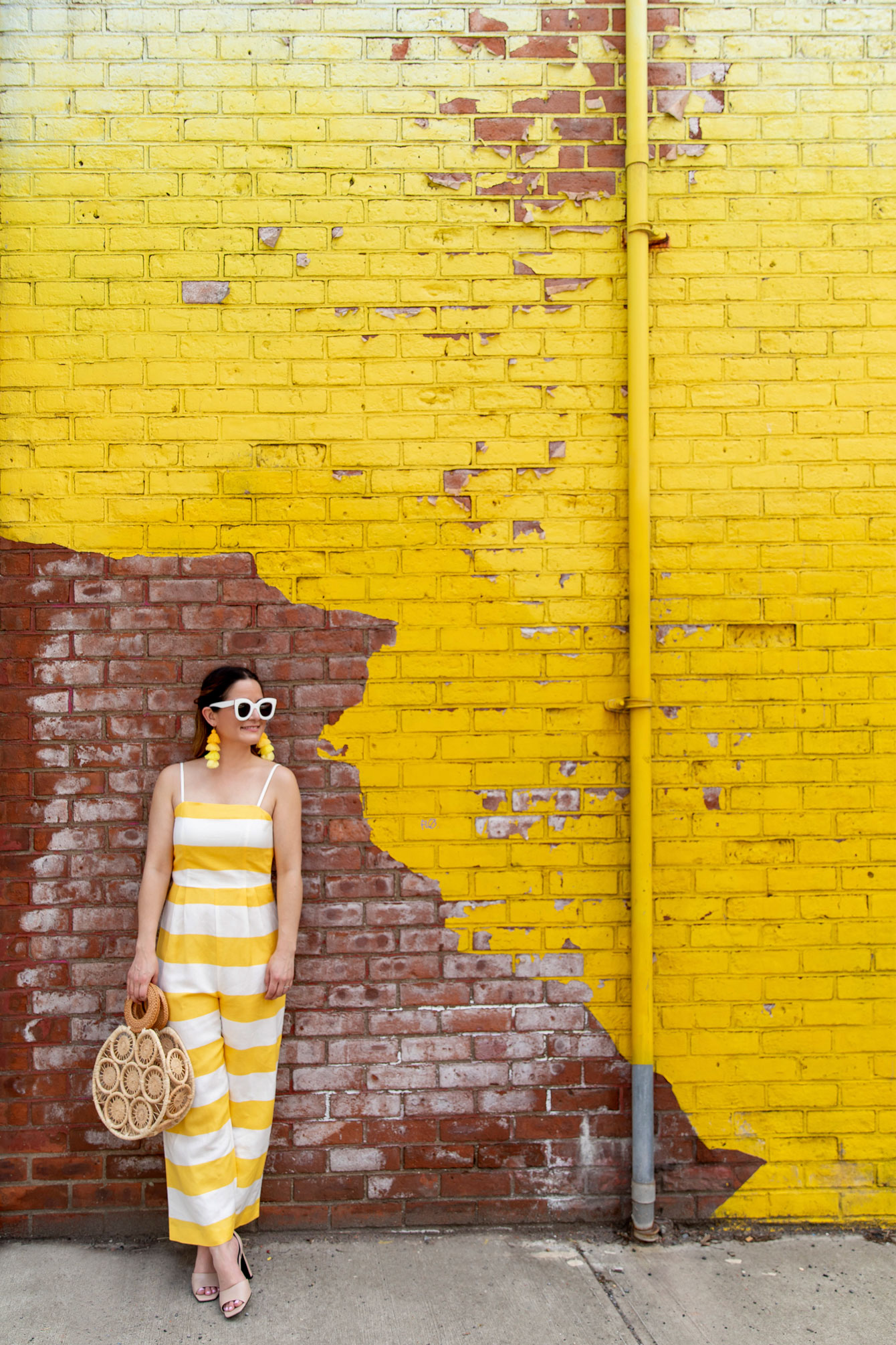 Jennifer Lake New York Yellow Mural