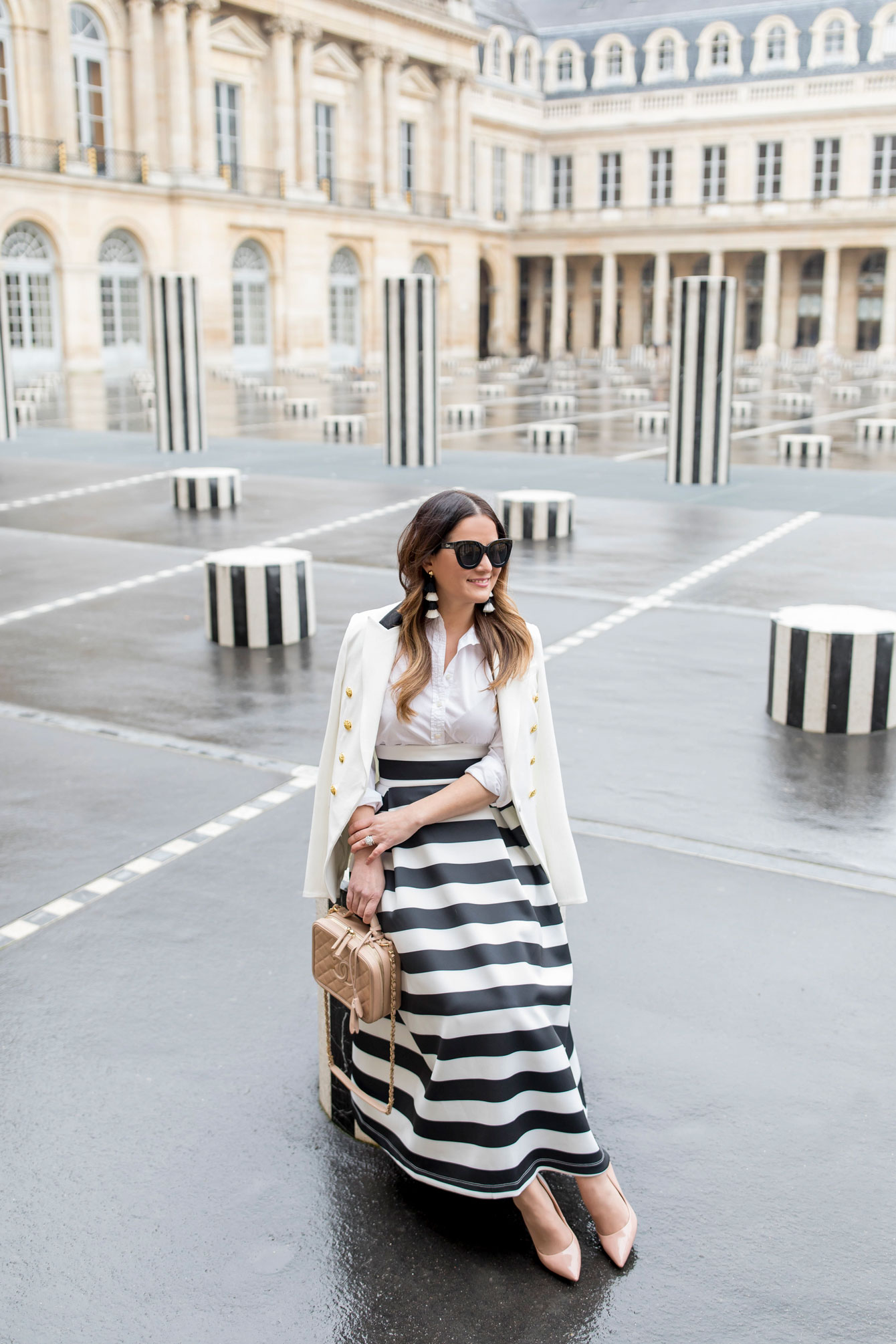 Jennifer Lake Palais Royal Stripe Columns