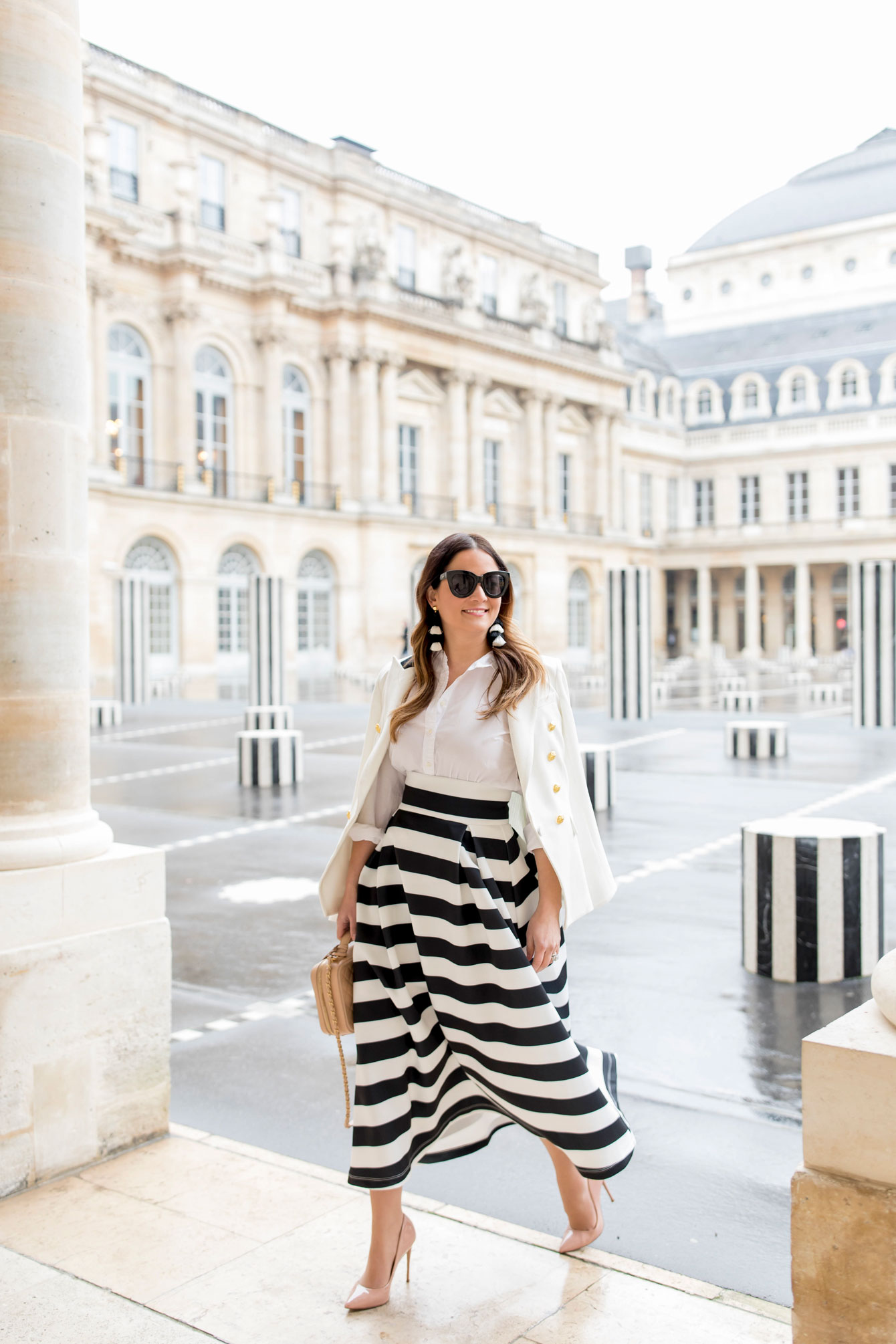 Jennifer Lake Paris Stripes