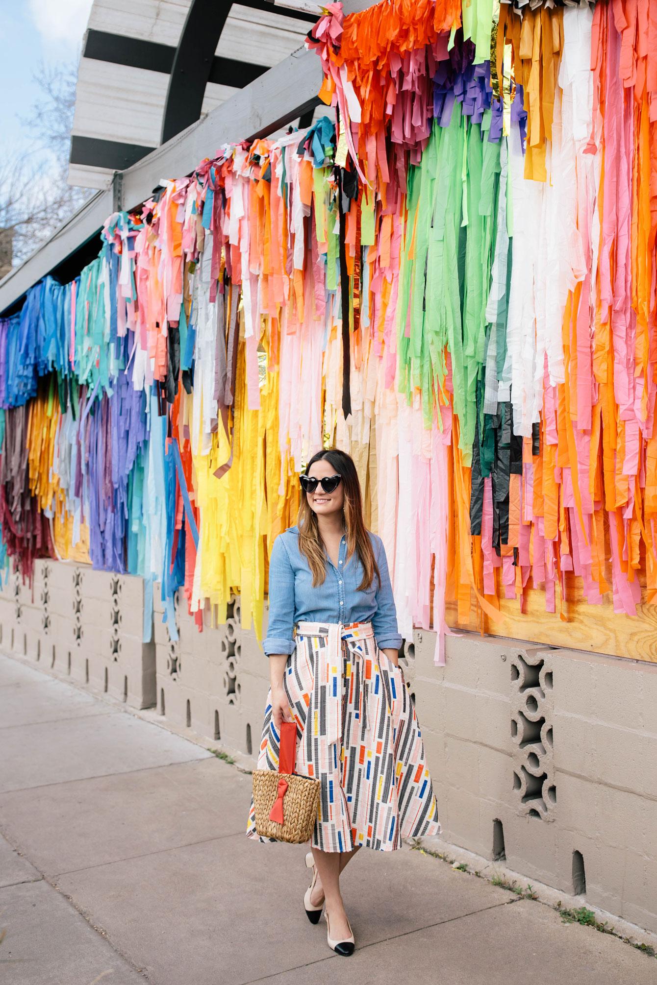 Jennifer Lake Style Charade Hutch Skirt