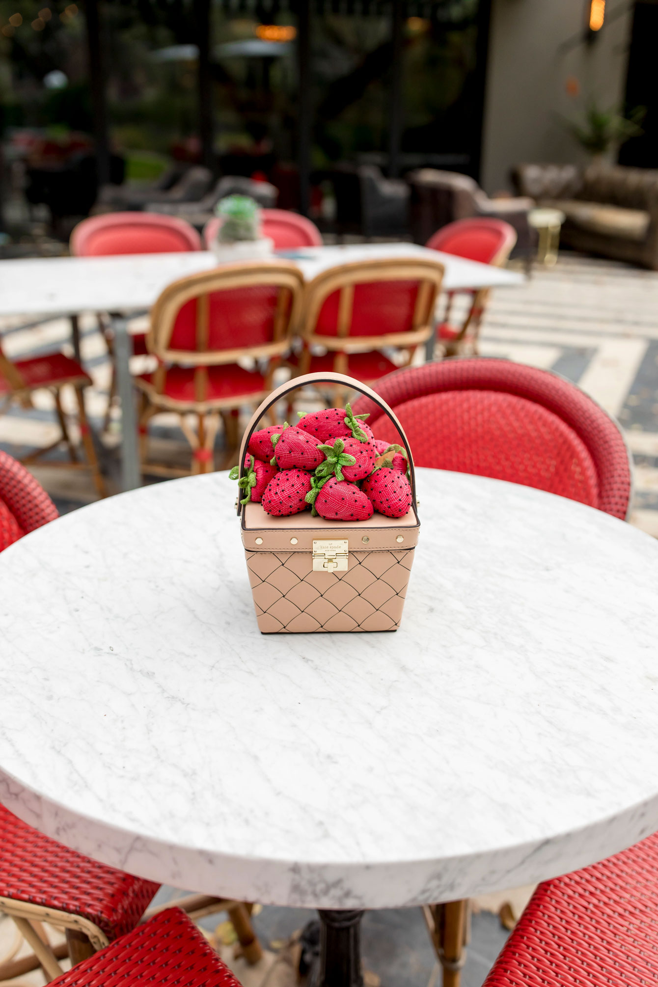 Kate Spade Strawberry Novelty Bag