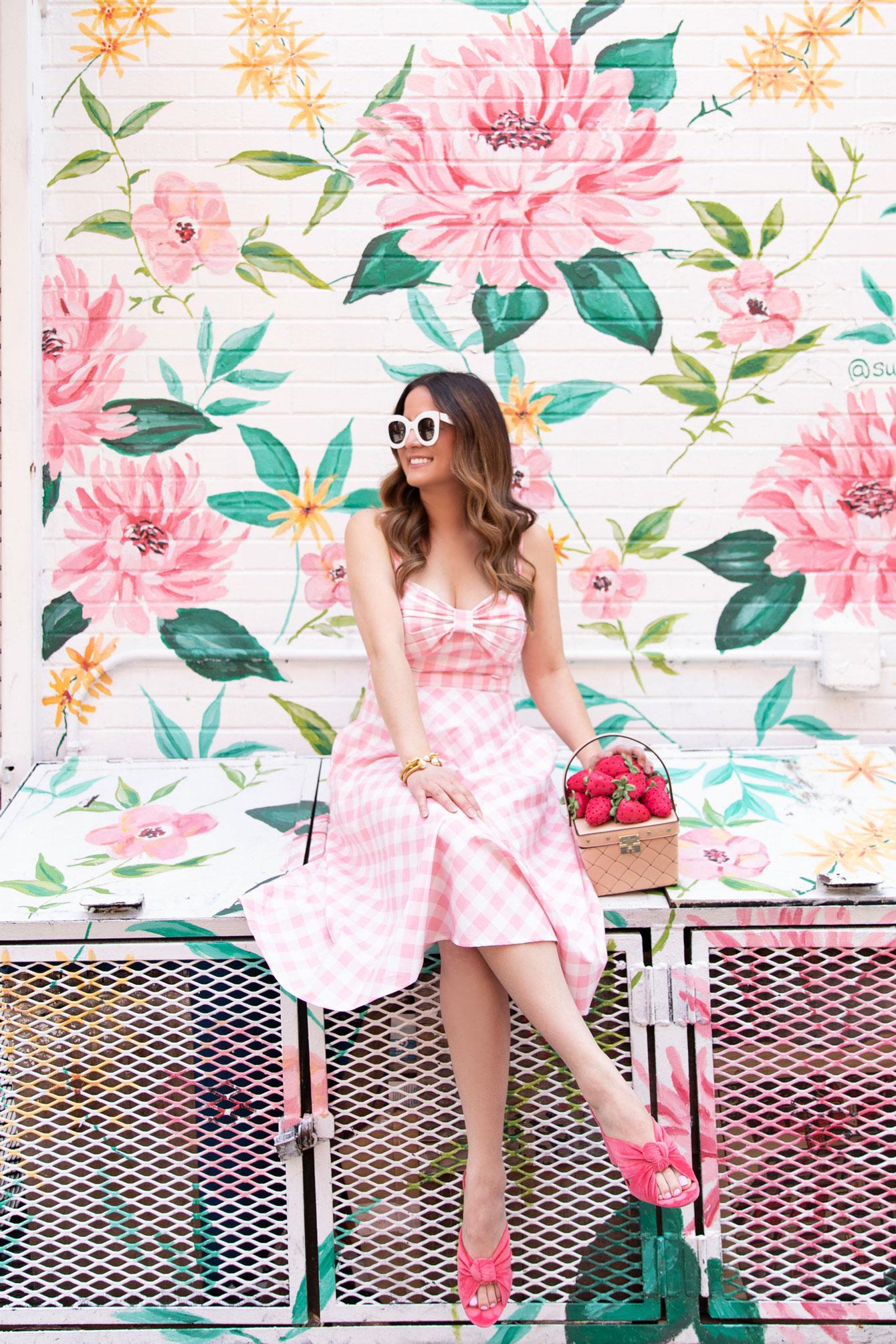 Nolita Floral Mural