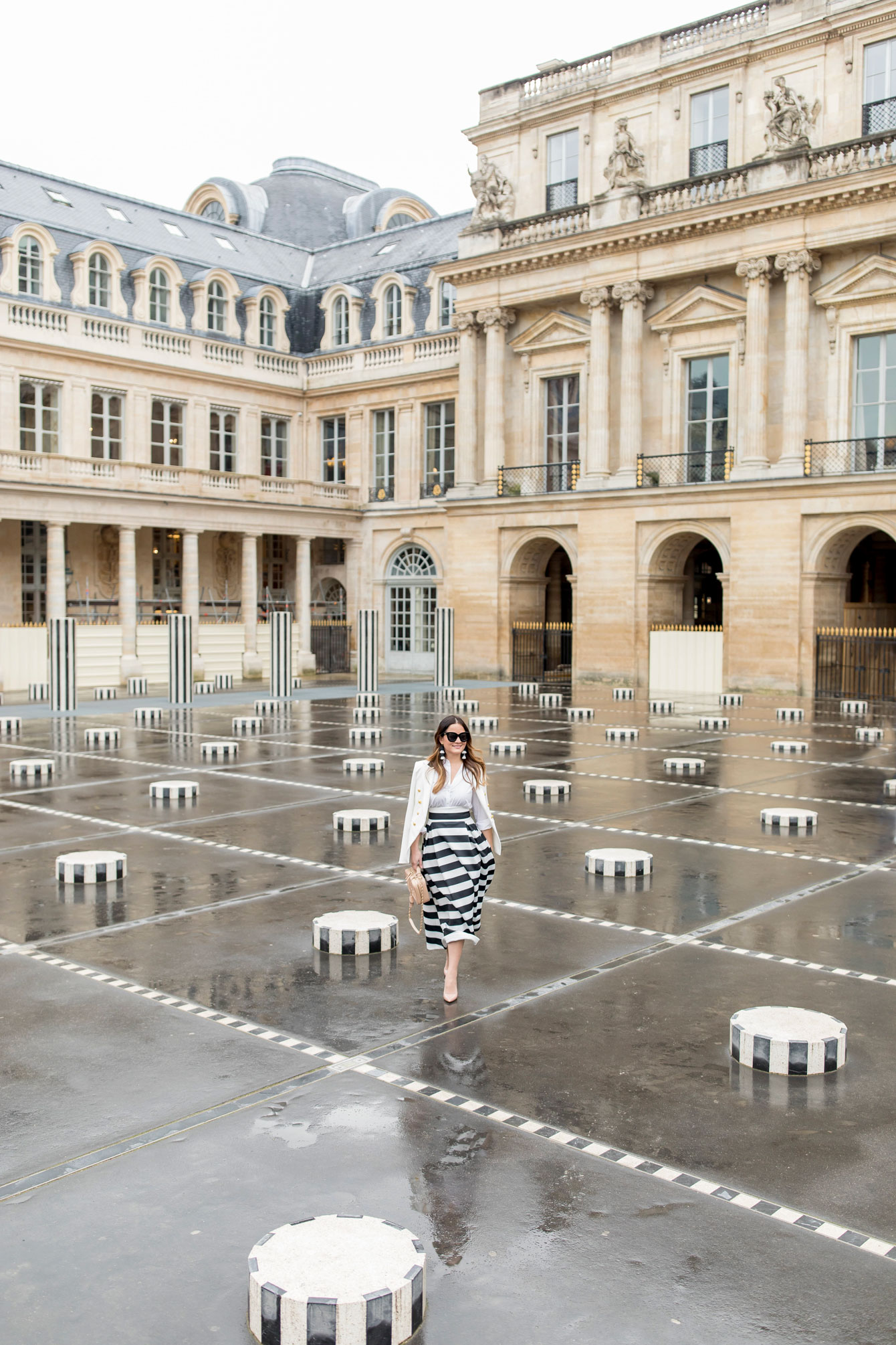 Palais Royal Stripe Columns