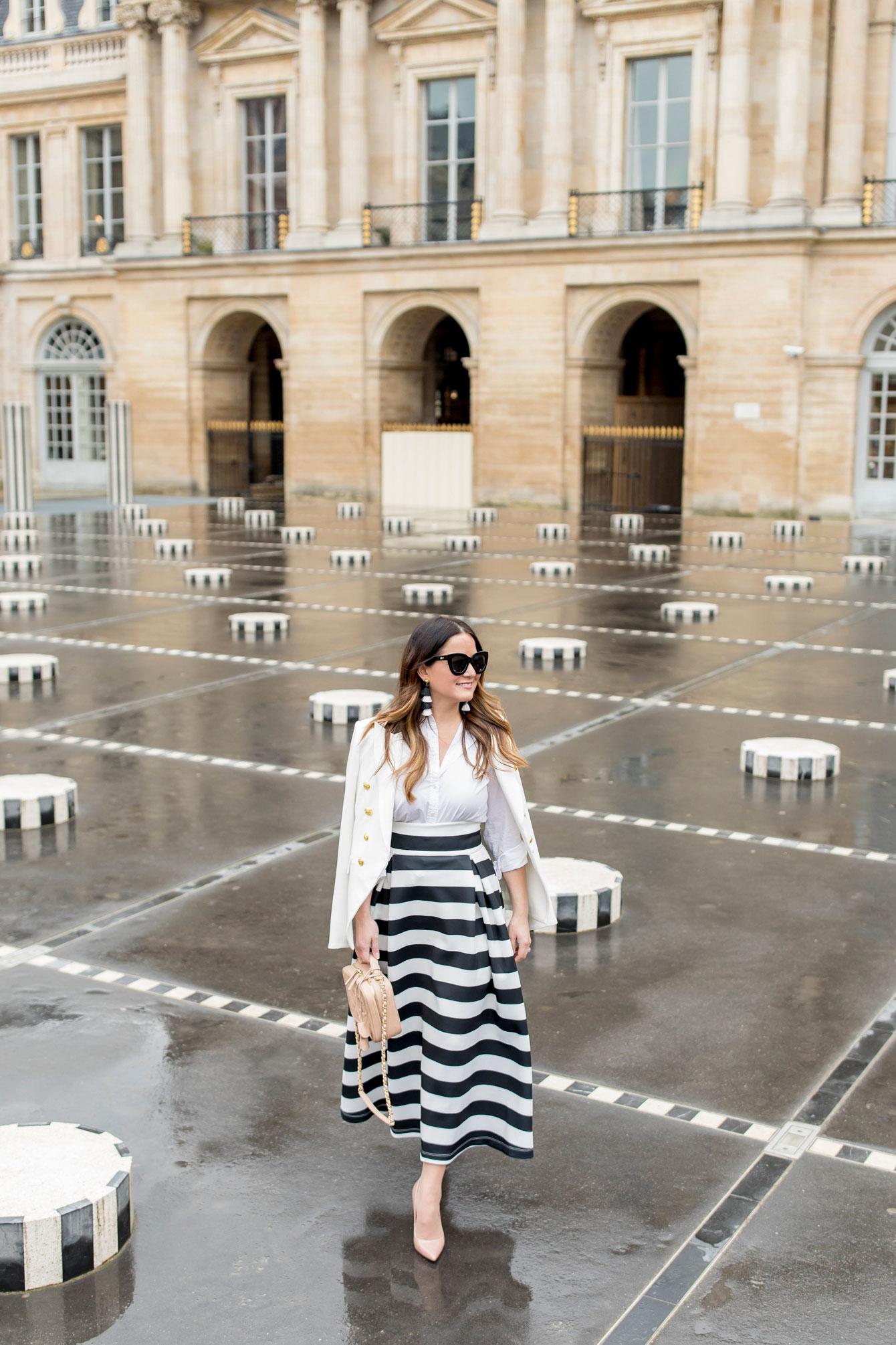 Style Charade Palais Royal Stripe Columns