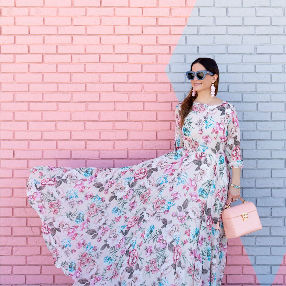 Yumi Kim Woodstock Floral Long Dress
