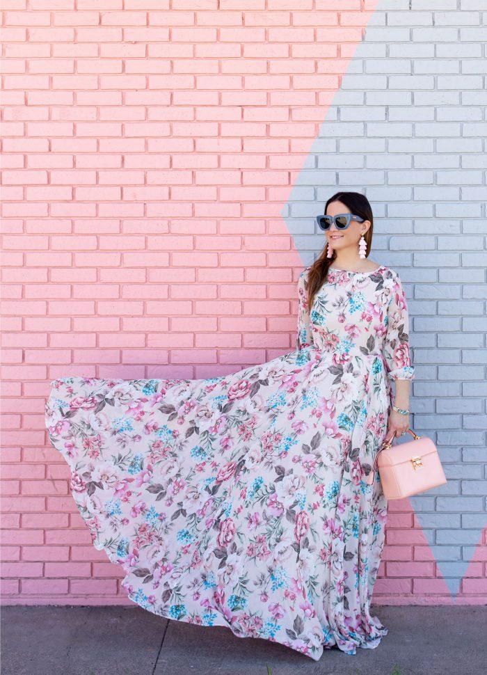 Yumi Kim Woodstock Floral Maxi Dress in Austin, Texas
