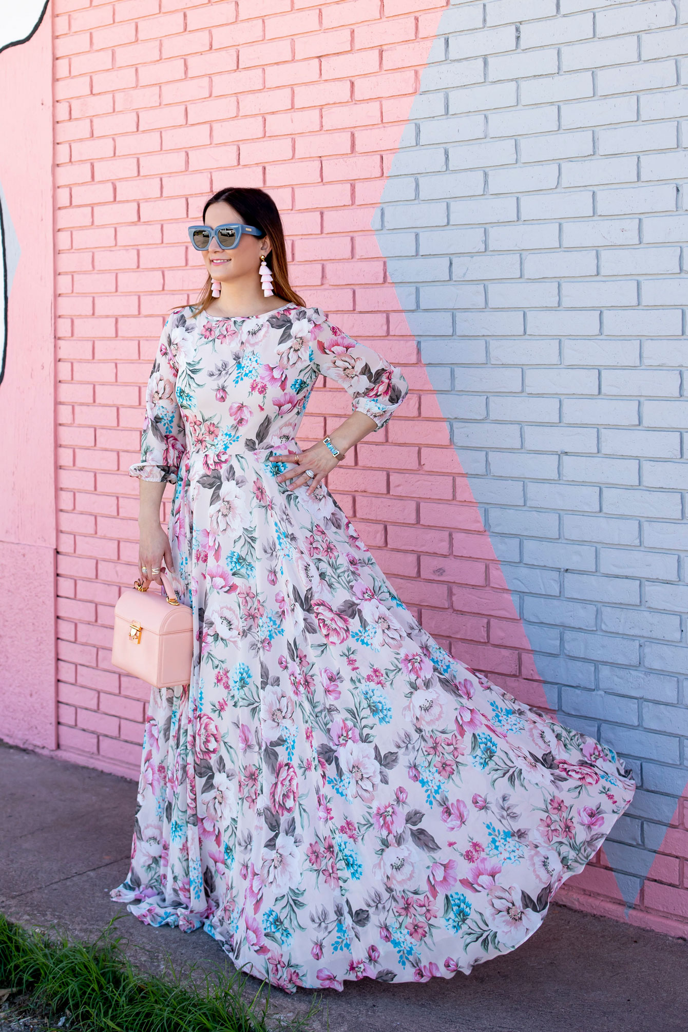 Yumi Kim Woodstock Floral Maxi Dress
