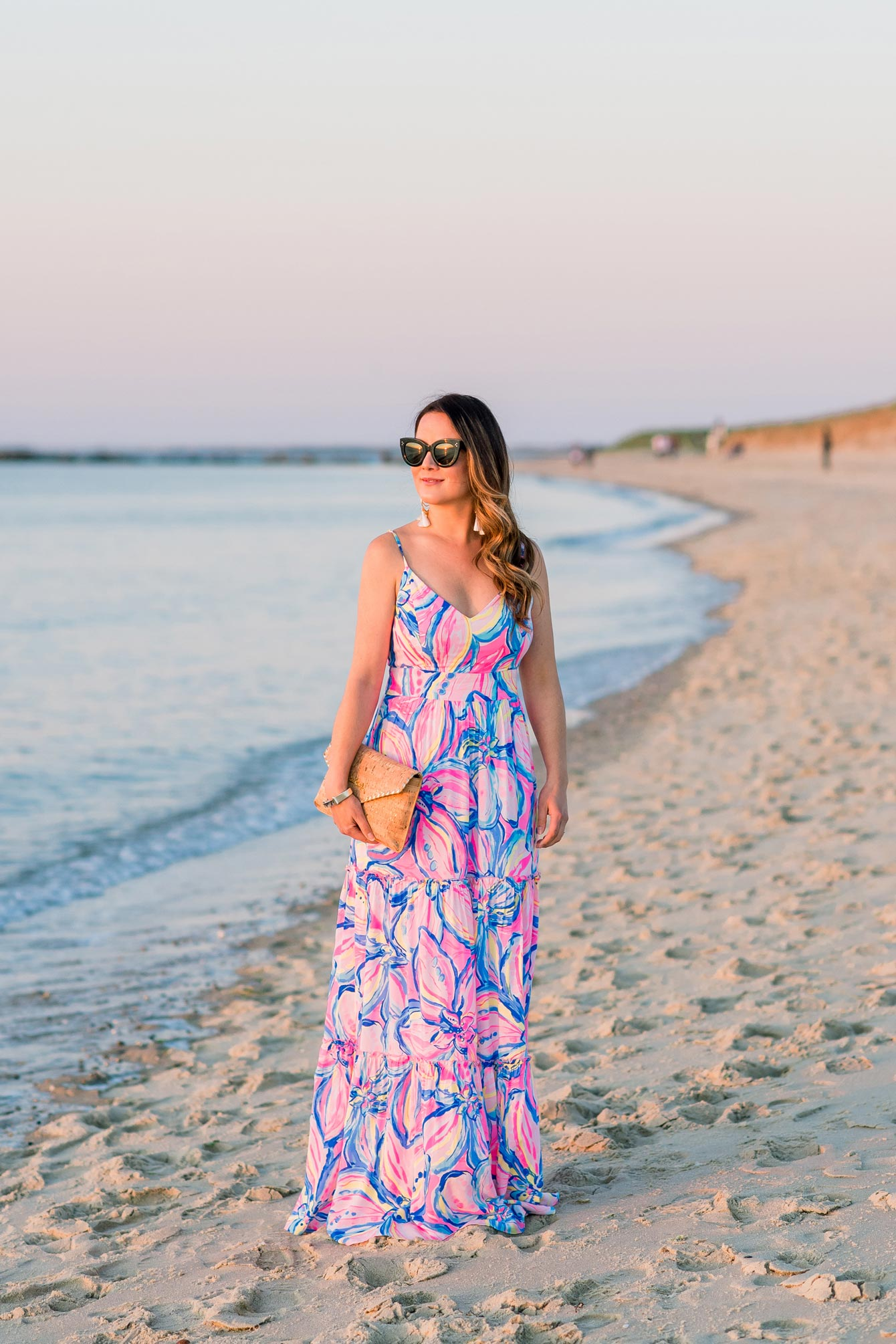 Jennifer Lake Lilly Pulitzer Maxi Dress