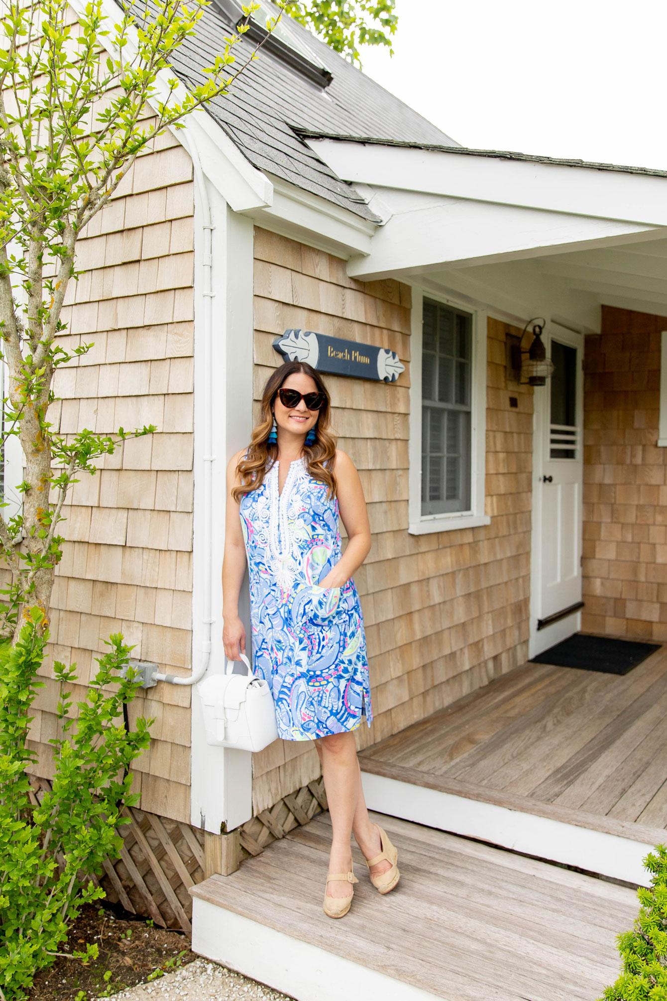 Jennifer Lake Lilly Pulitzer Shift Dress