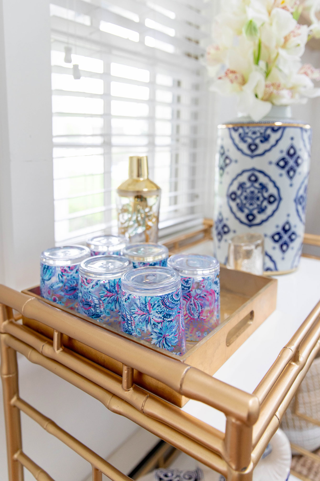 Lilly Pulitzer Barware