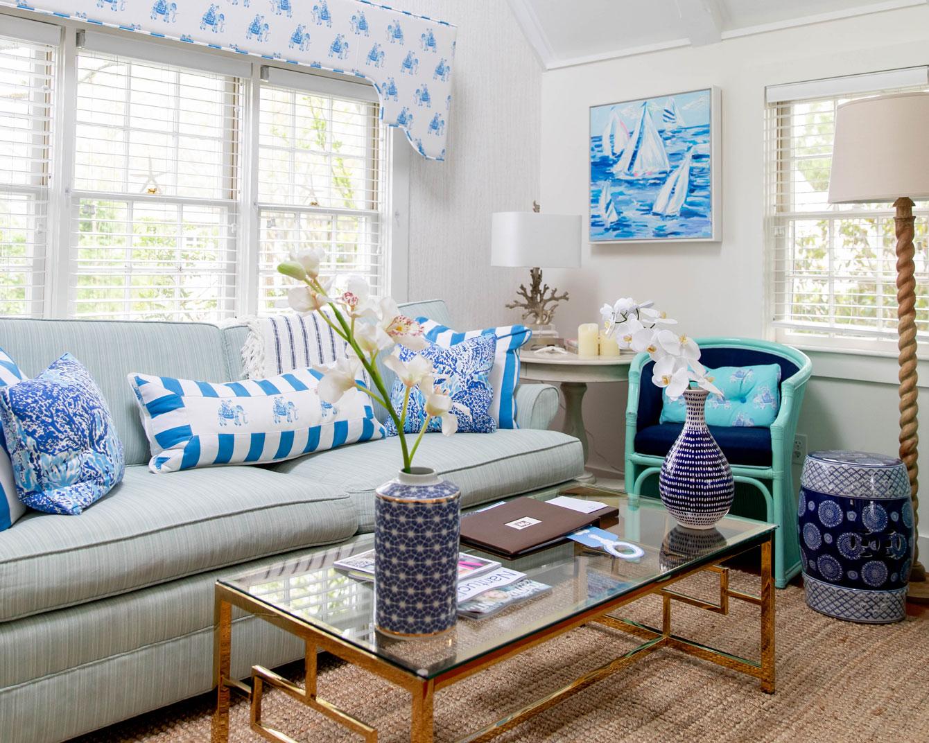 Lilly Pulitzer Cottage Interior Design