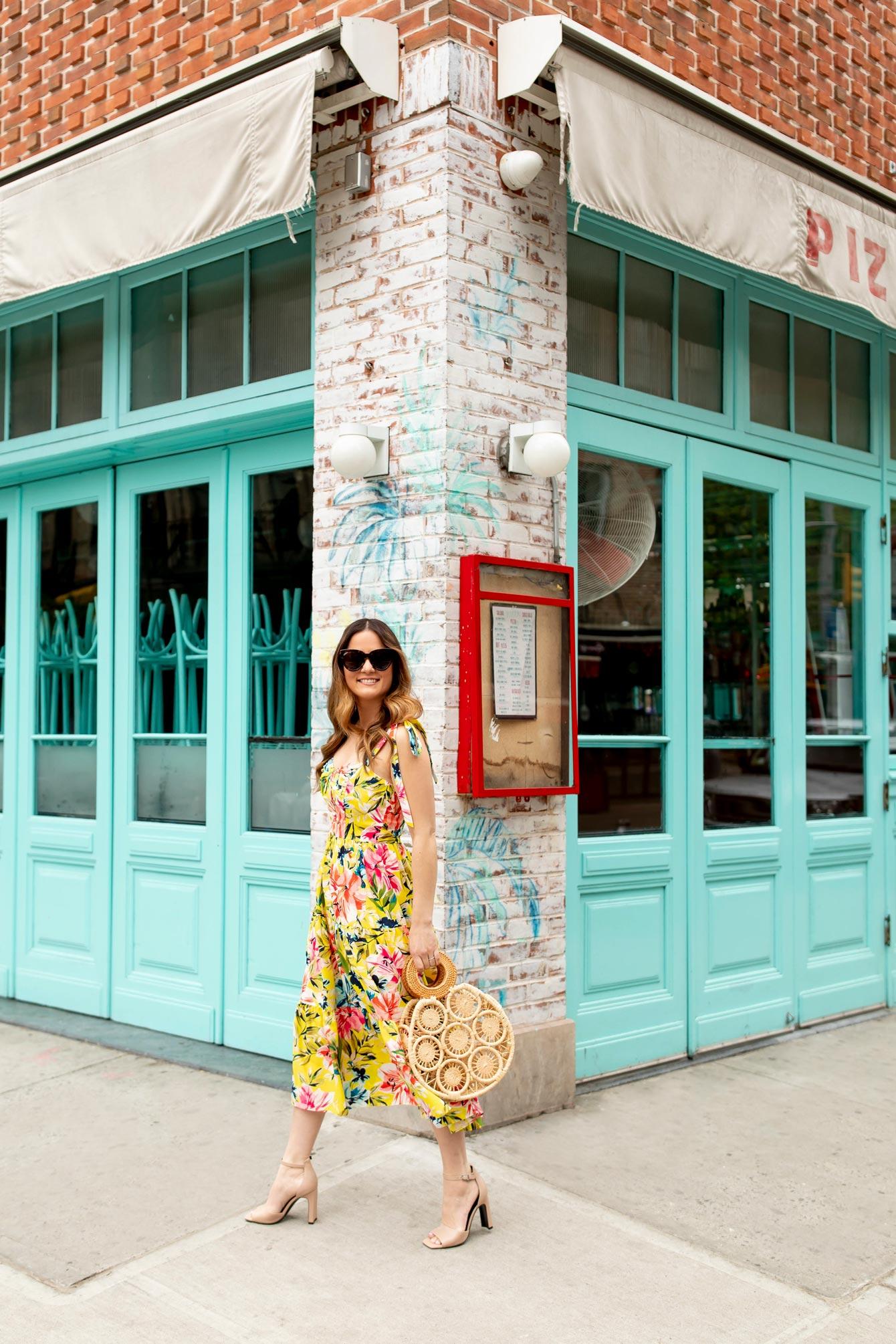 Pizza Beach New York Colorful Doors