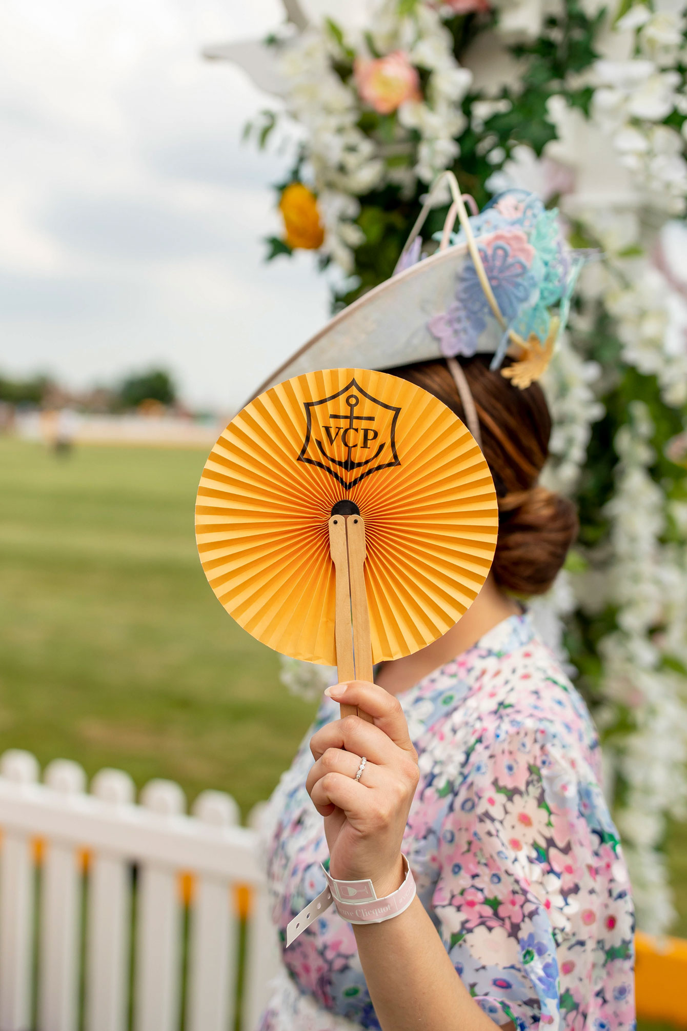 Veuve Clicquot Polo Classic Fan