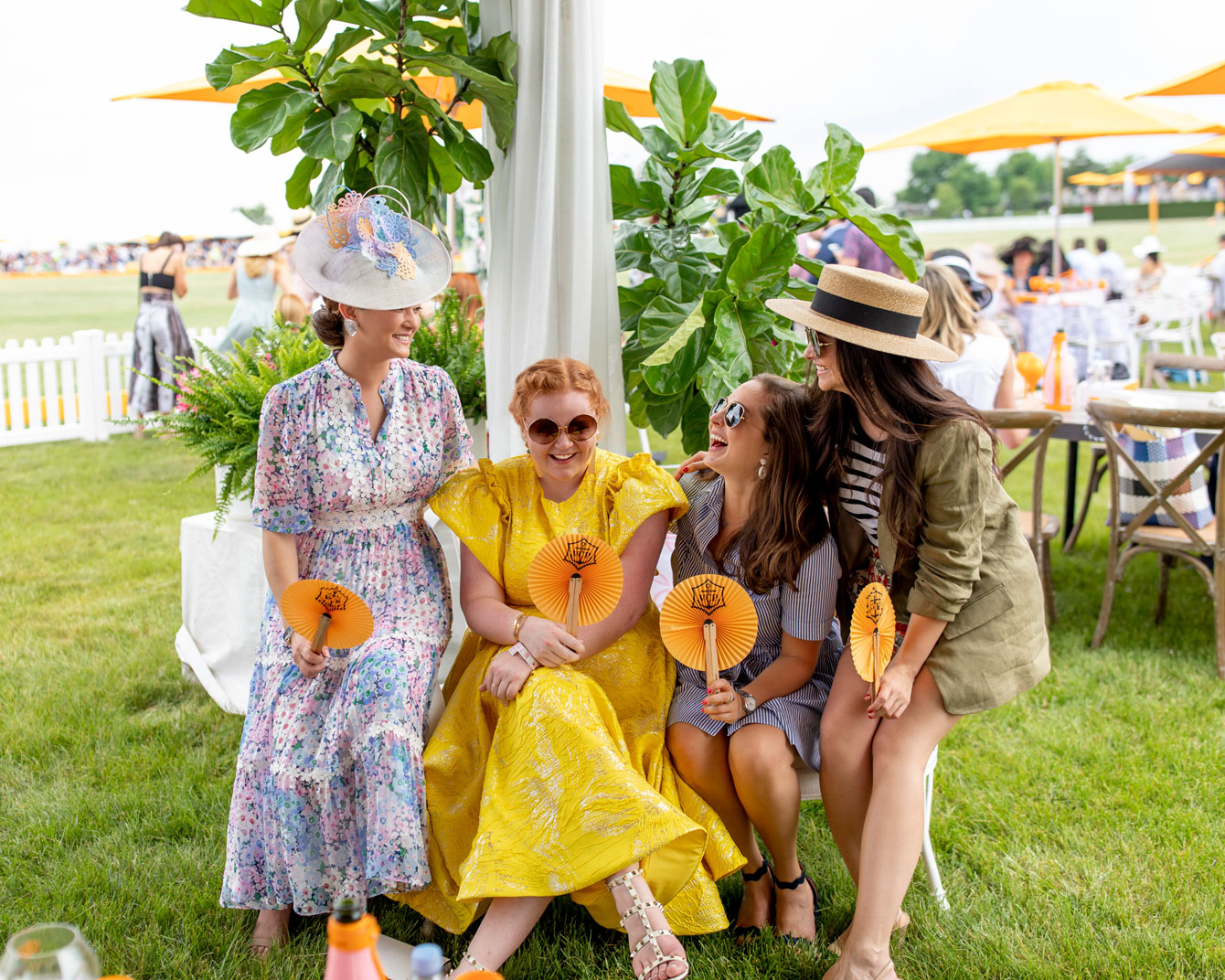Veuve Clicquot Polo Classic Fashion Bloggers