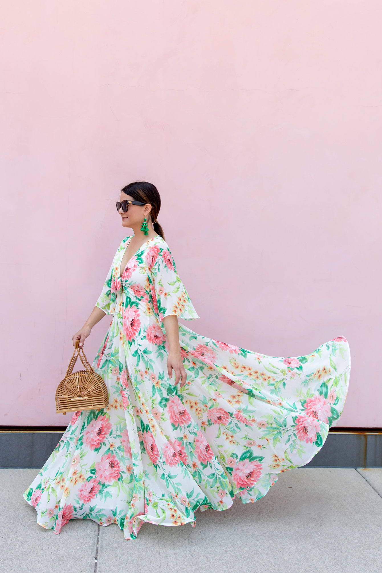 Yumi Kim World Traveler Floral Dress