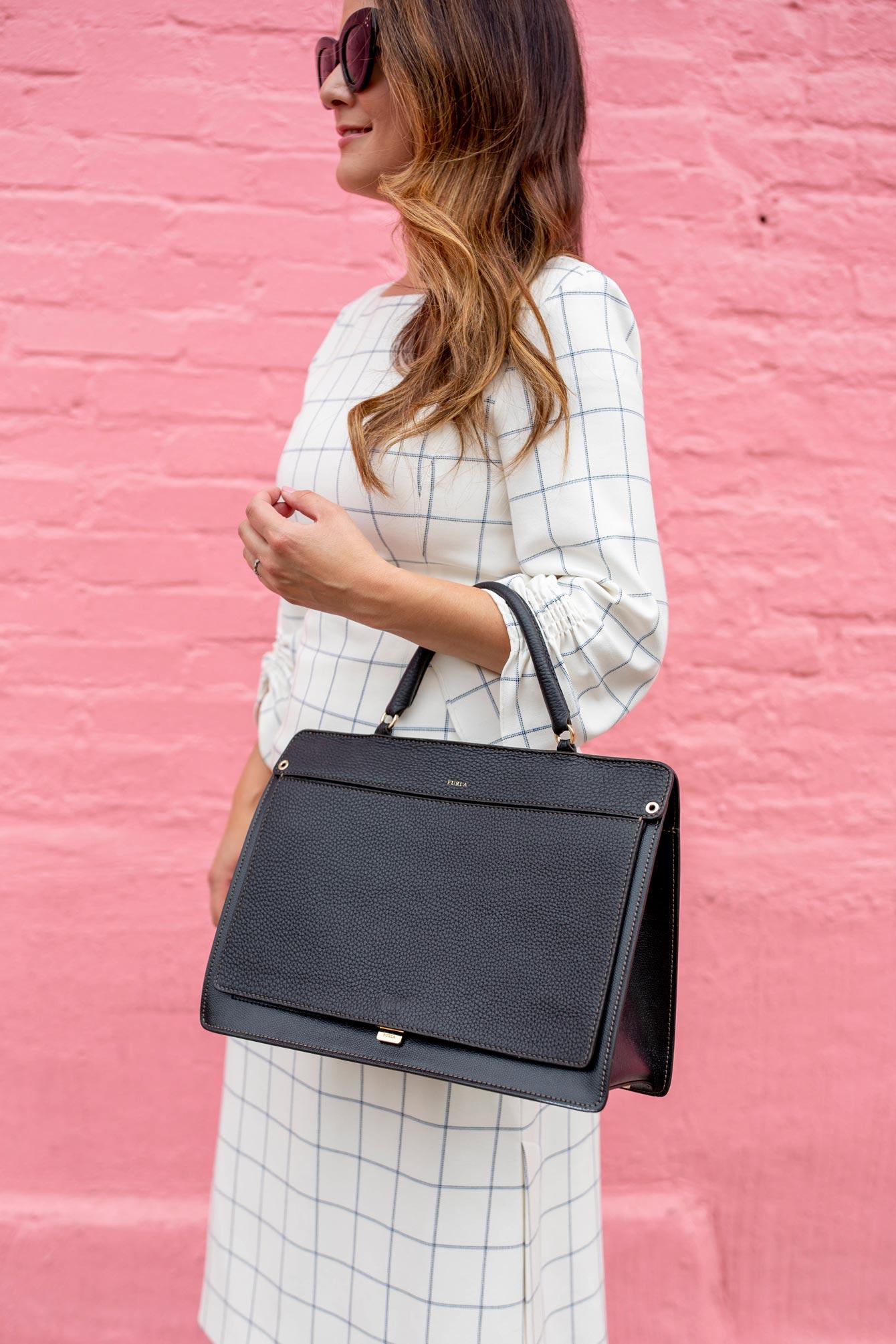 Furla Top Handle Convertible Bag
