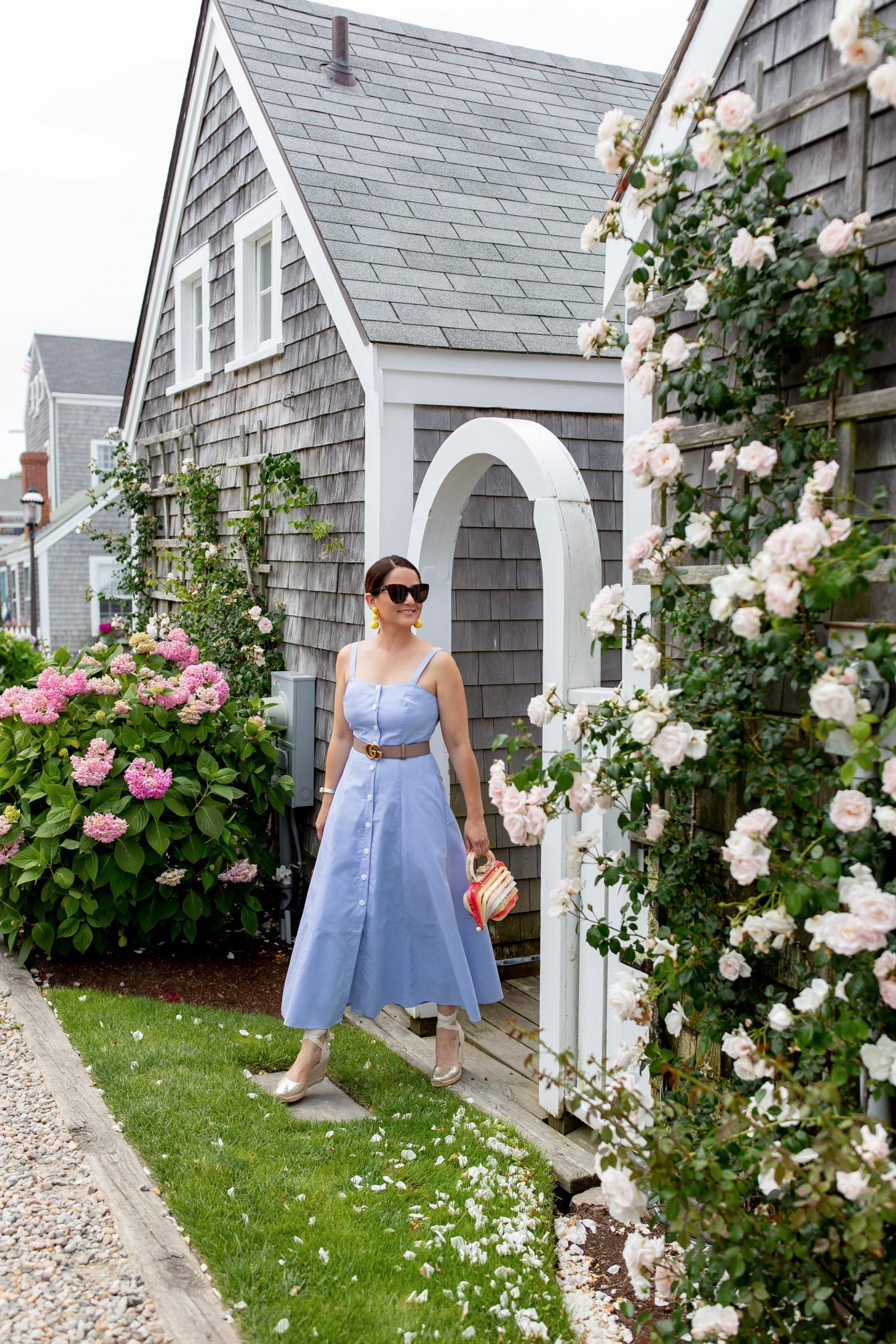 Jennifer Lake Nantucket Blue Dress