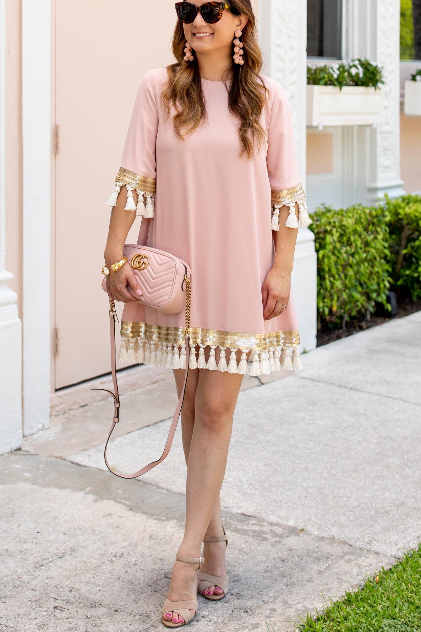 Mestiza Shimmy Shimmy Tassel Dress